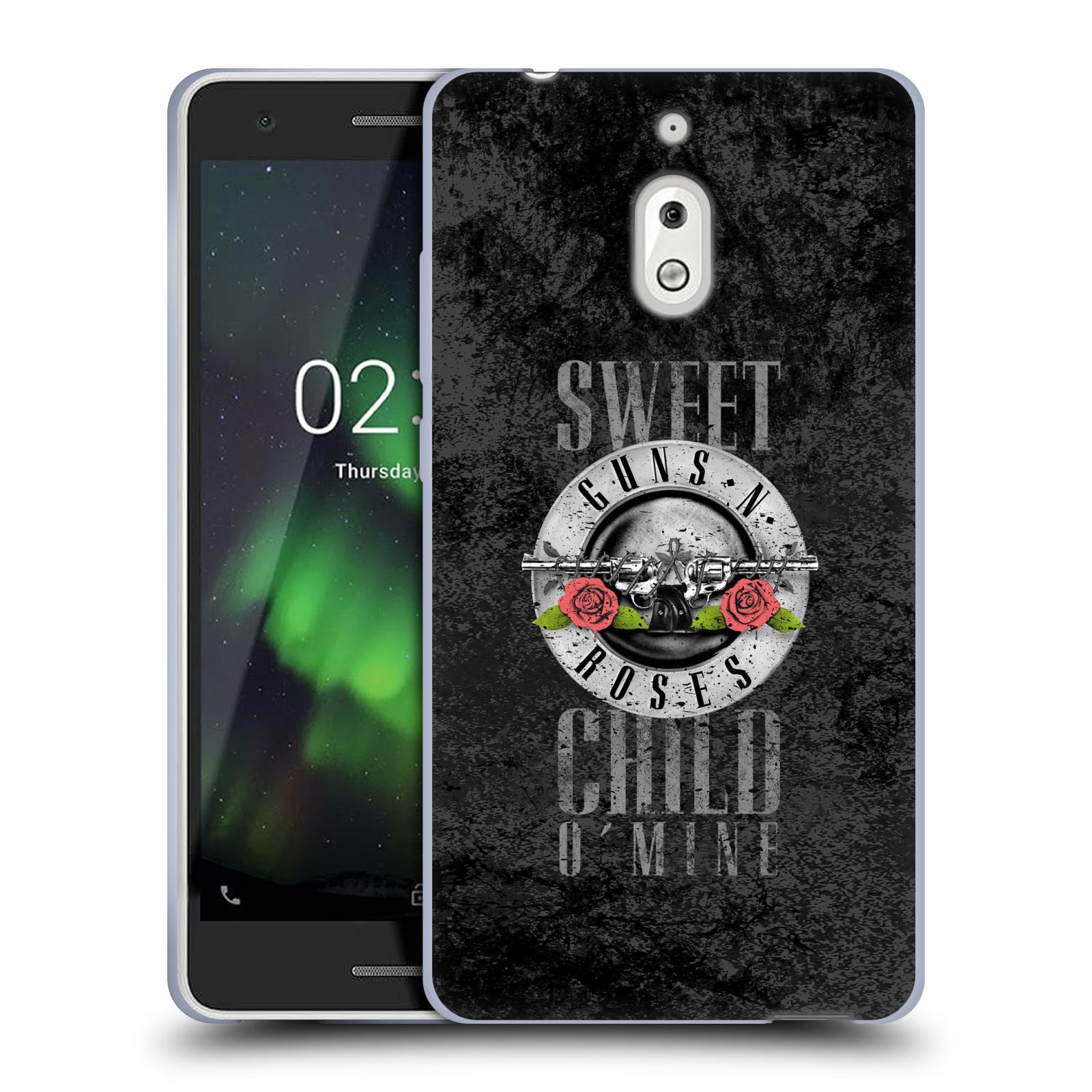 Silikonové pouzdro na mobil Nokia 2.1 - Head Case - Guns N' Roses - Sweet Child