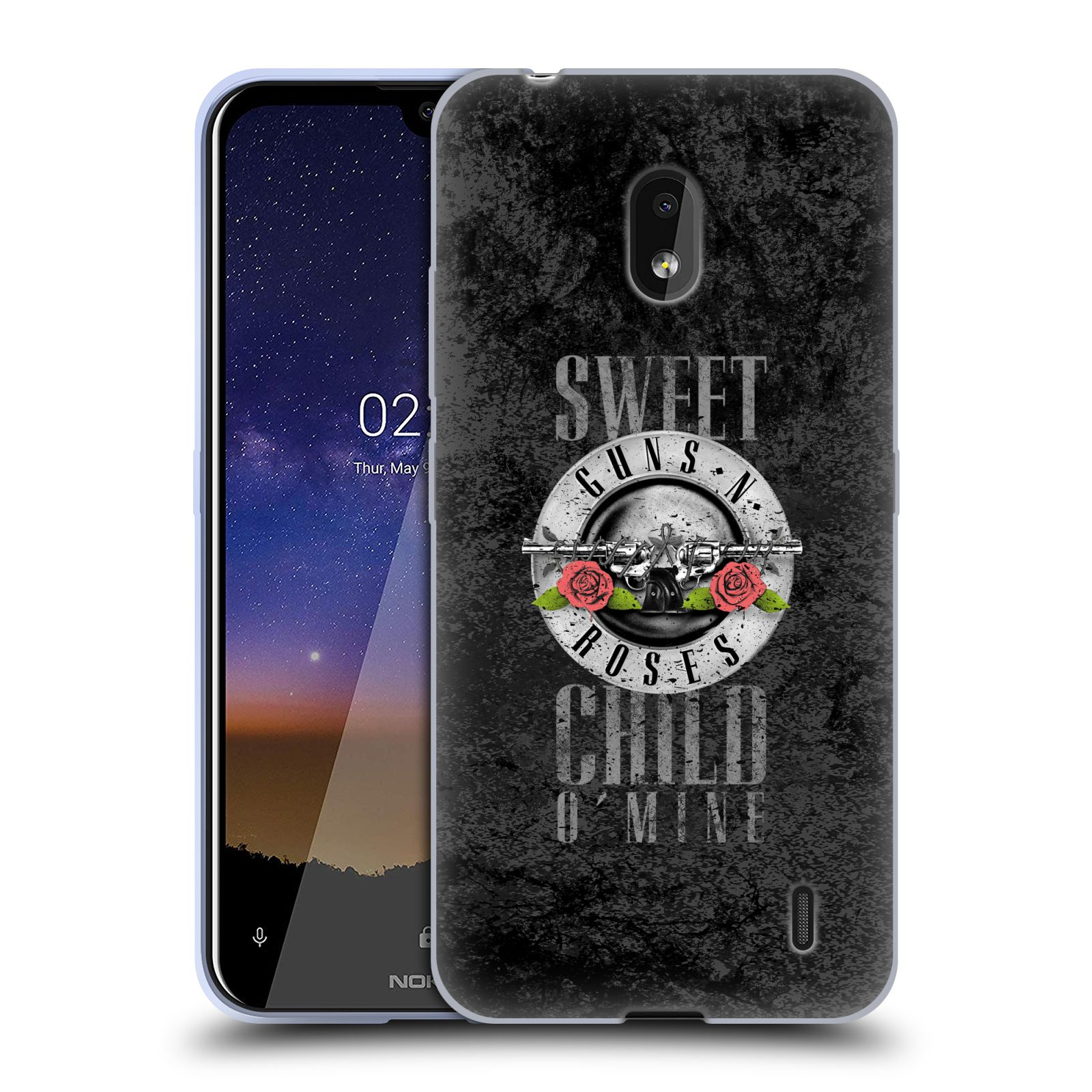 Silikonové pouzdro na mobil Nokia 2.2 - Head Case - Guns N' Roses - Sweet Child