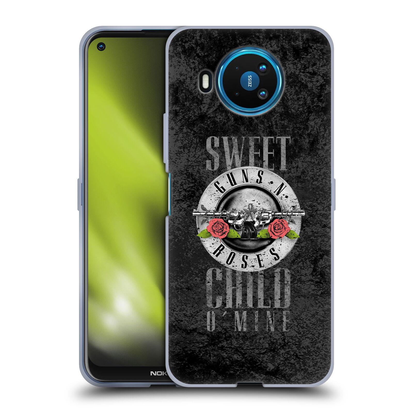 Silikonové pouzdro na mobil Nokia 8.3 5G - Head Case - Guns N' Roses - Sweet Child