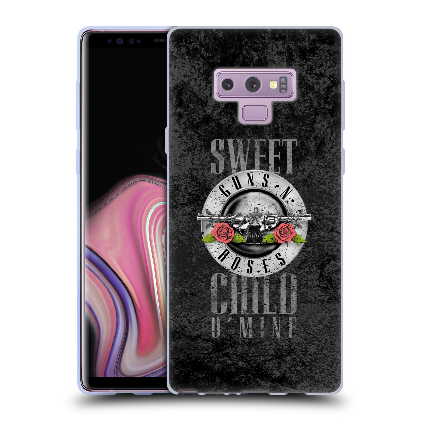 Silikonové pouzdro na mobil Samsung Galaxy Note 9 - Head Case - Guns N' Roses - Sweet Child