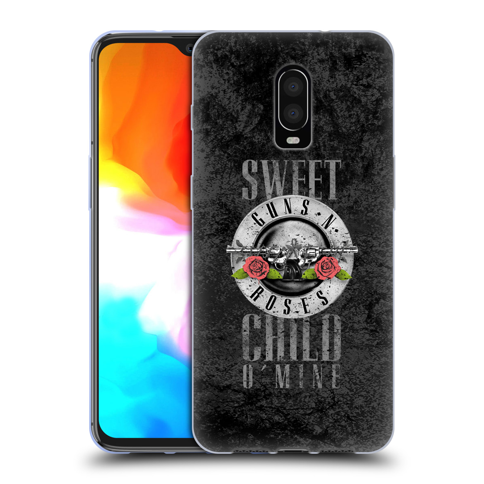 Silikonové pouzdro na mobil OnePlus 6T - Head Case - Guns N' Roses - Sweet Child