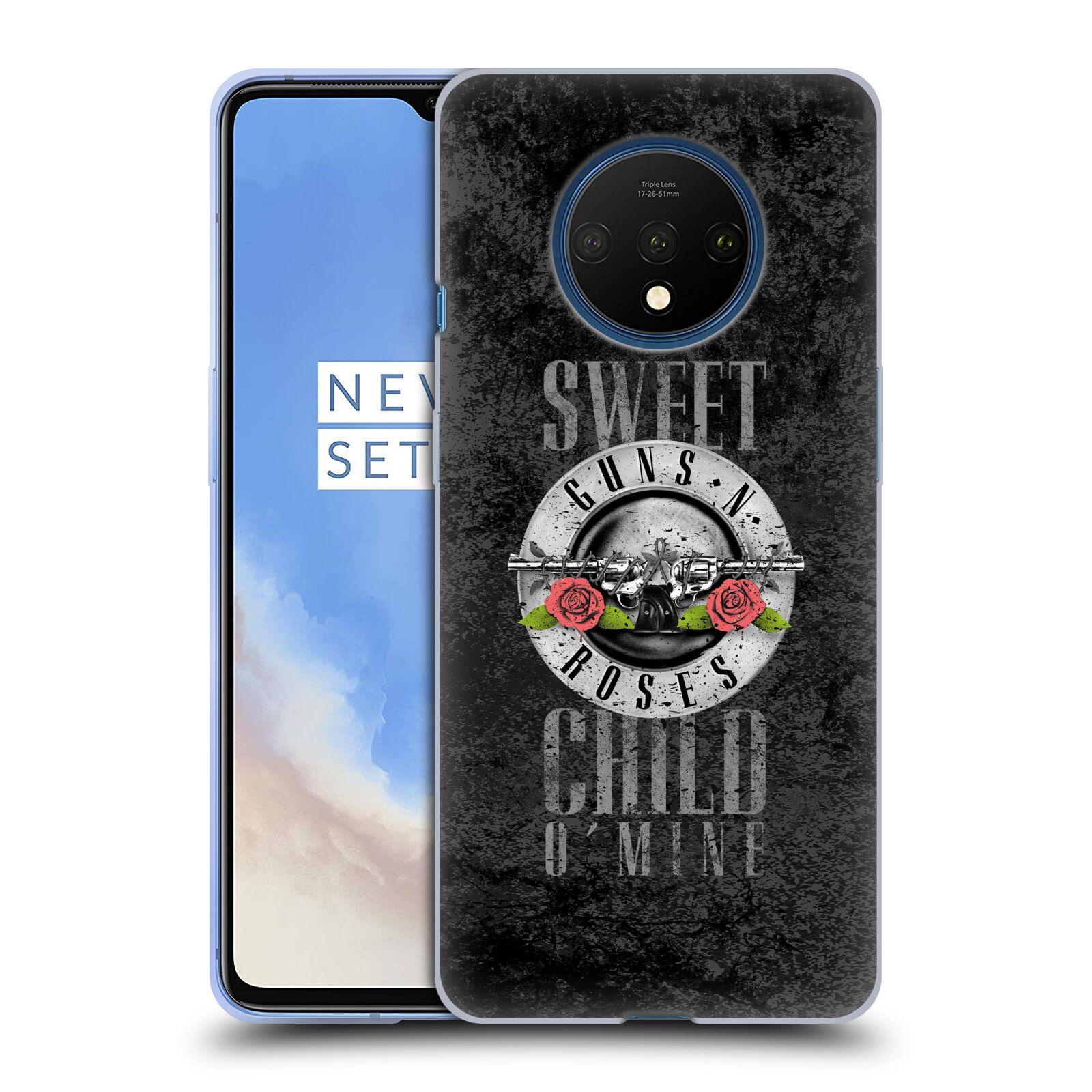 Silikonové pouzdro na mobil OnePlus 7T - Head Case - Guns N' Roses - Sweet Child