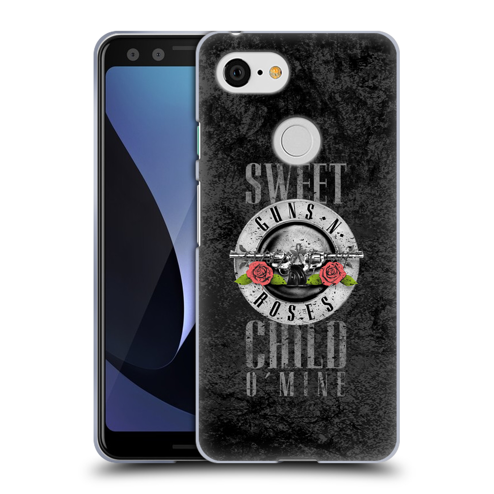 Silikonové pouzdro na mobil Google Pixel 3 - Head Case - Guns N' Roses - Sweet Child