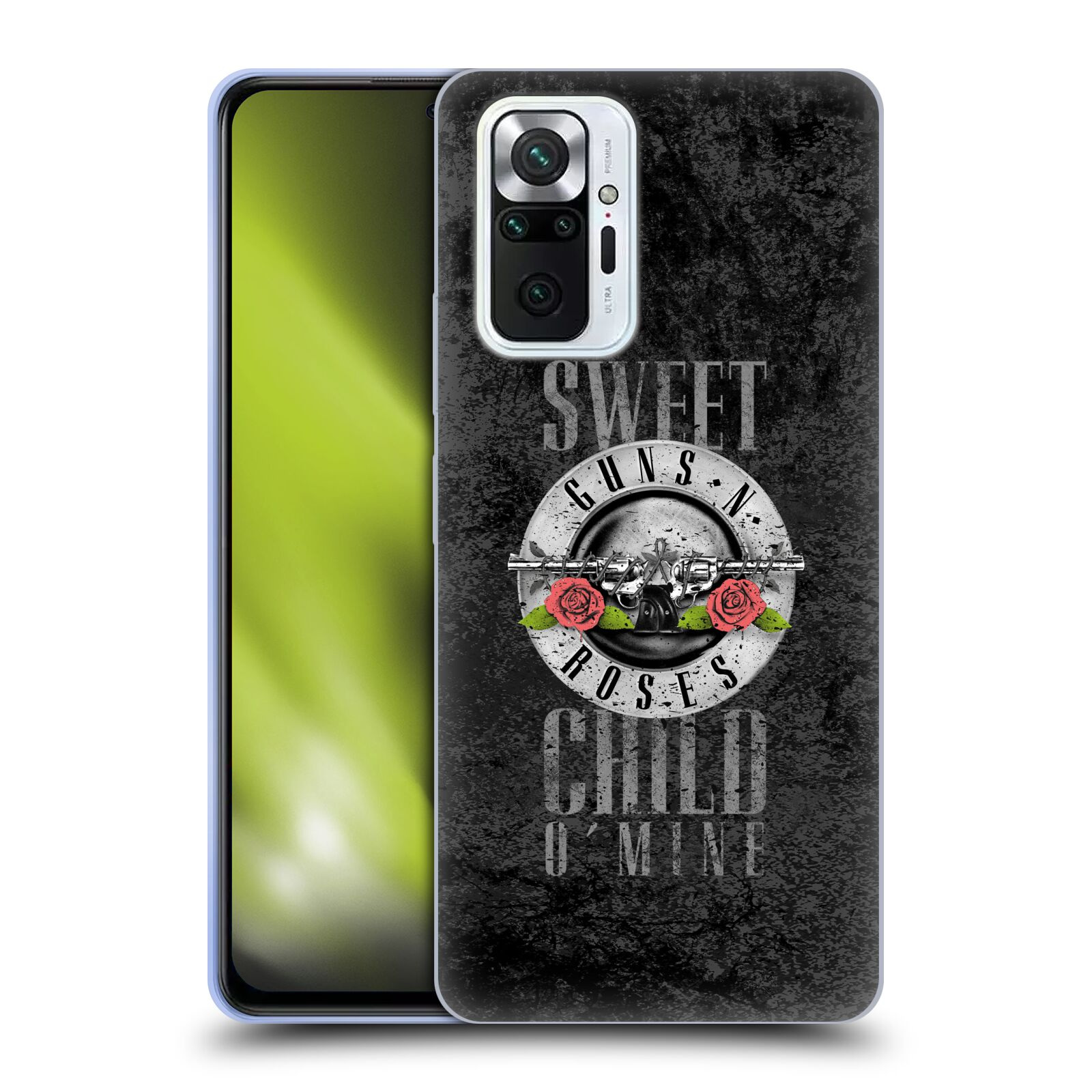 Silikonové pouzdro na mobil Xiaomi Redmi Note 10 Pro - Head Case - Guns N' Roses - Sweet Child