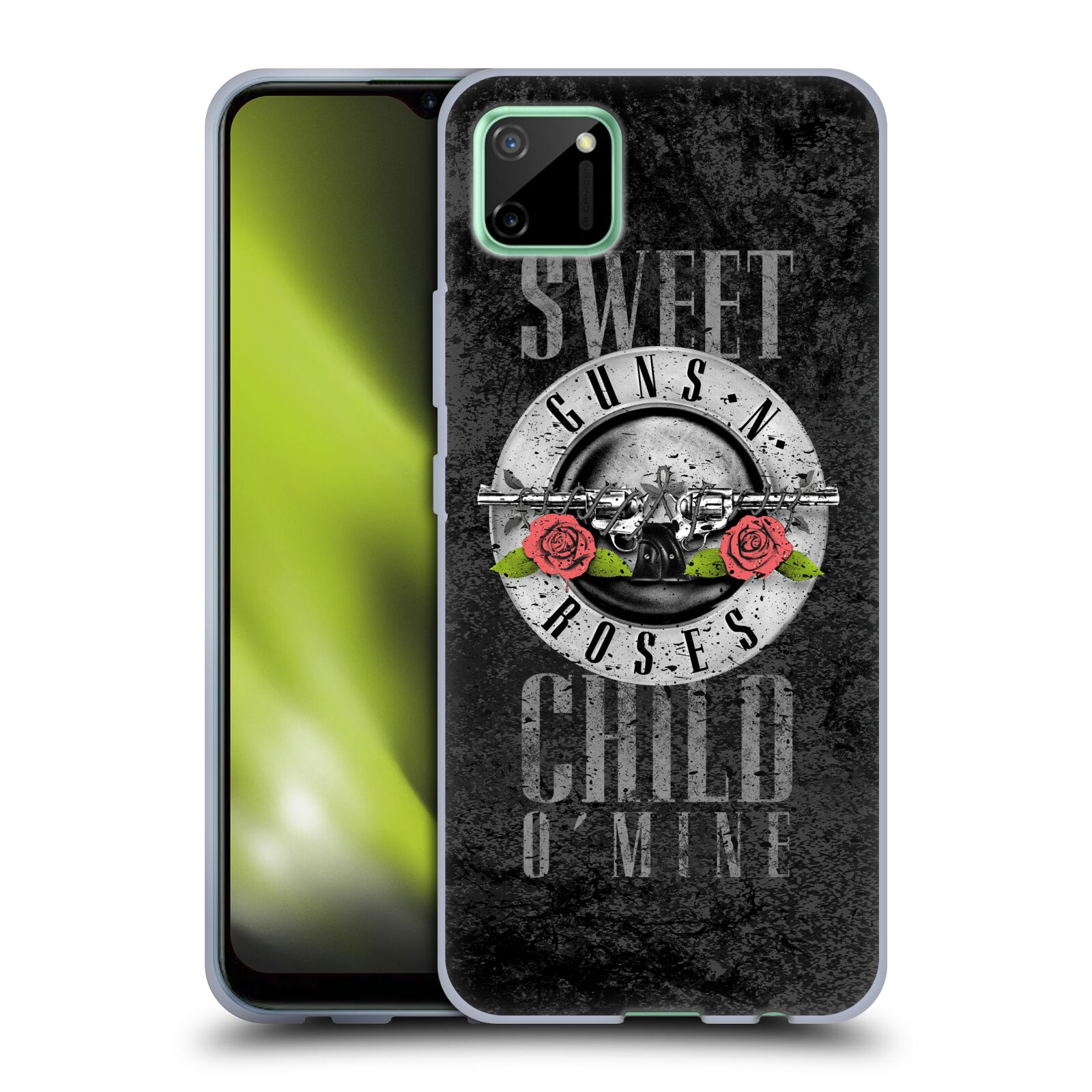Silikonové pouzdro na mobil Realme C11 - Head Case - Guns N' Roses - Sweet Child