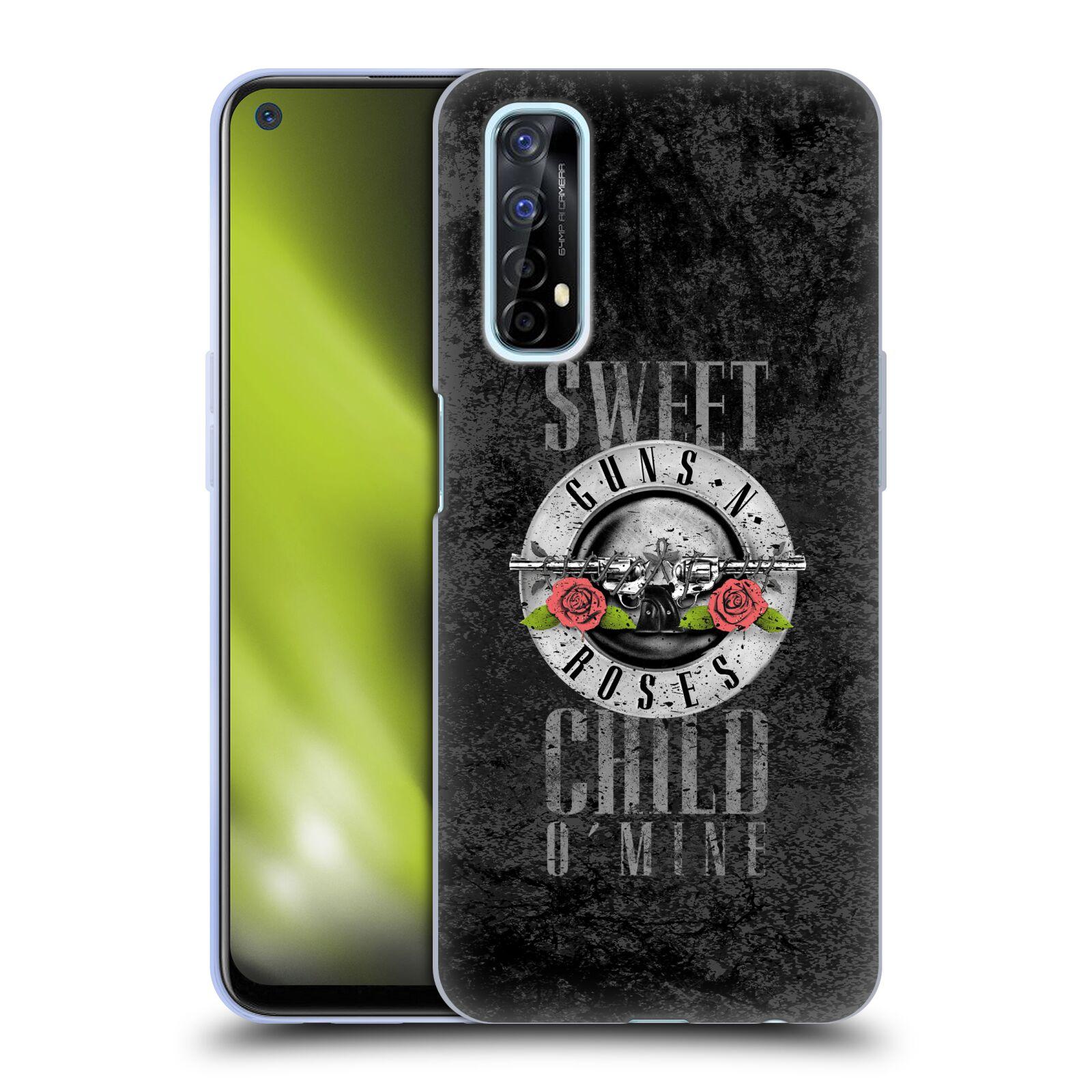 Silikonové pouzdro na mobil Realme 7 - Head Case - Guns N' Roses - Sweet Child