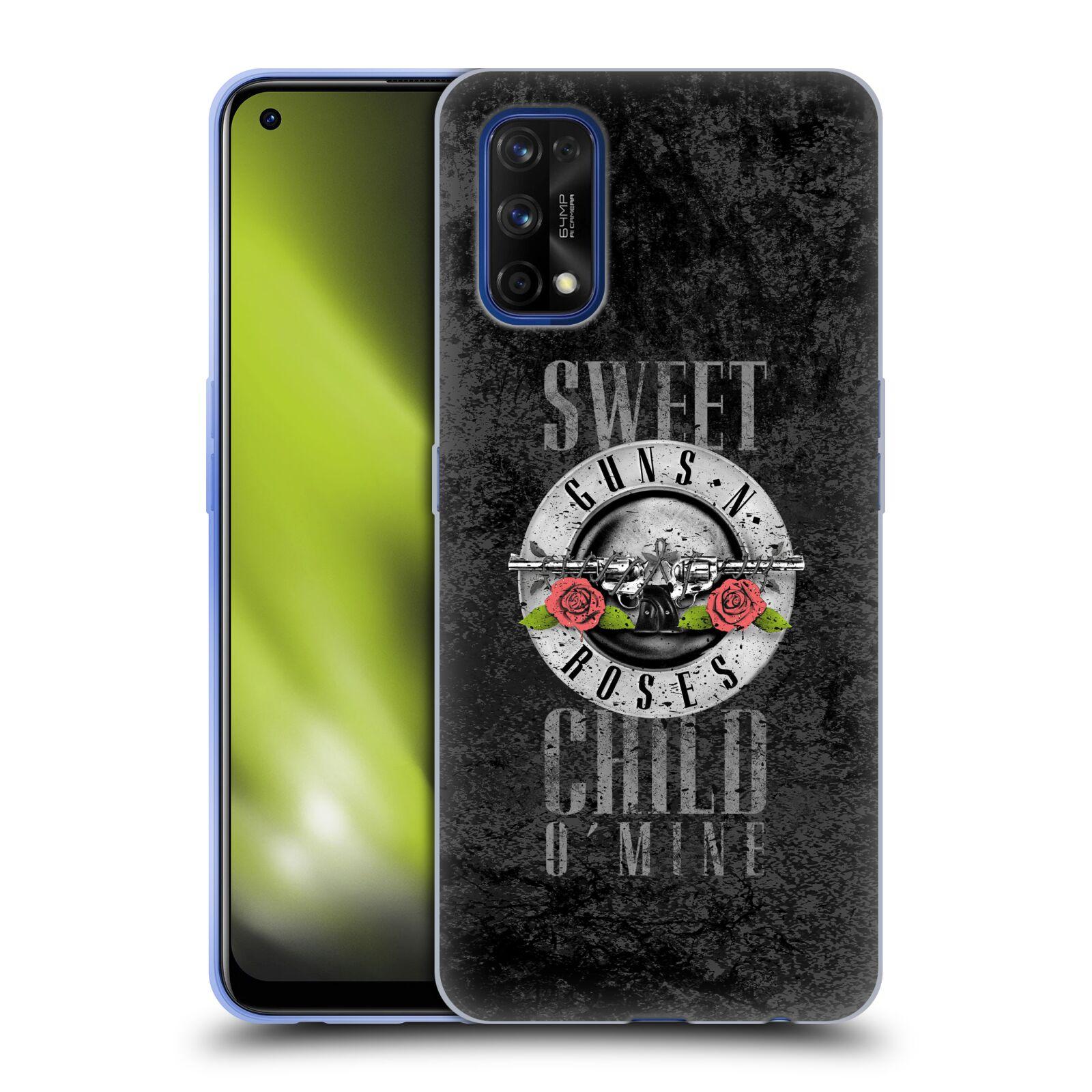 Silikonové pouzdro na mobil Realme 7 Pro - Head Case - Guns N' Roses - Sweet Child