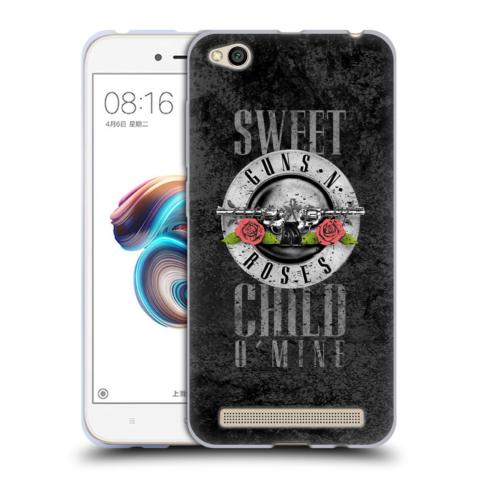 Silikonové pouzdro na mobil Xiaomi Redmi 5A - Head Case - Guns N' Roses - Sweet Child