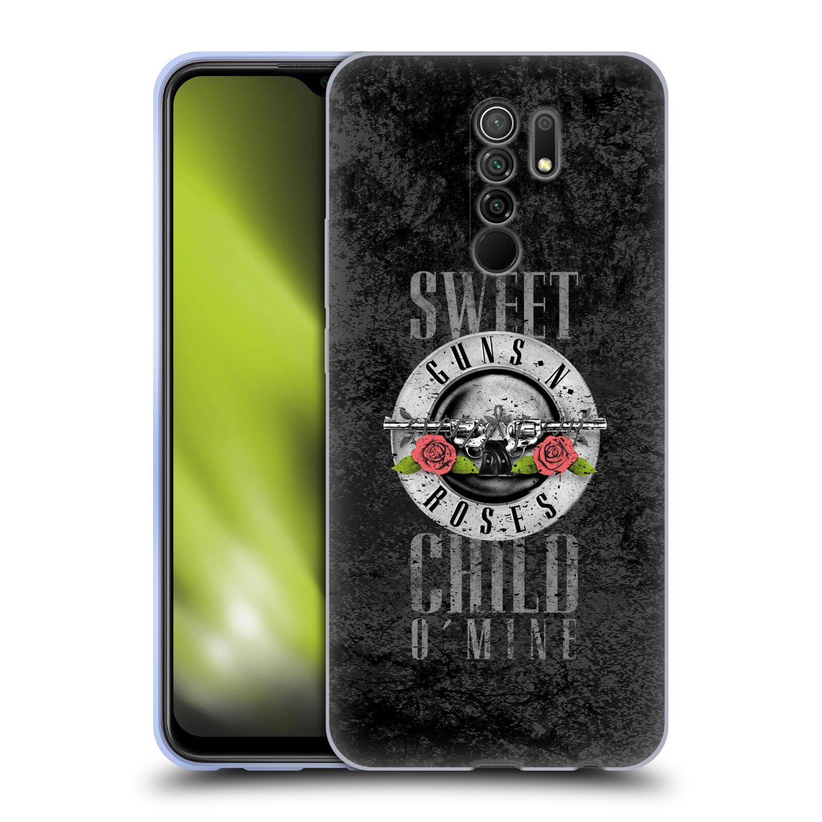 Silikonové pouzdro na mobil Xiaomi Redmi 9 - Head Case - Guns N' Roses - Sweet Child