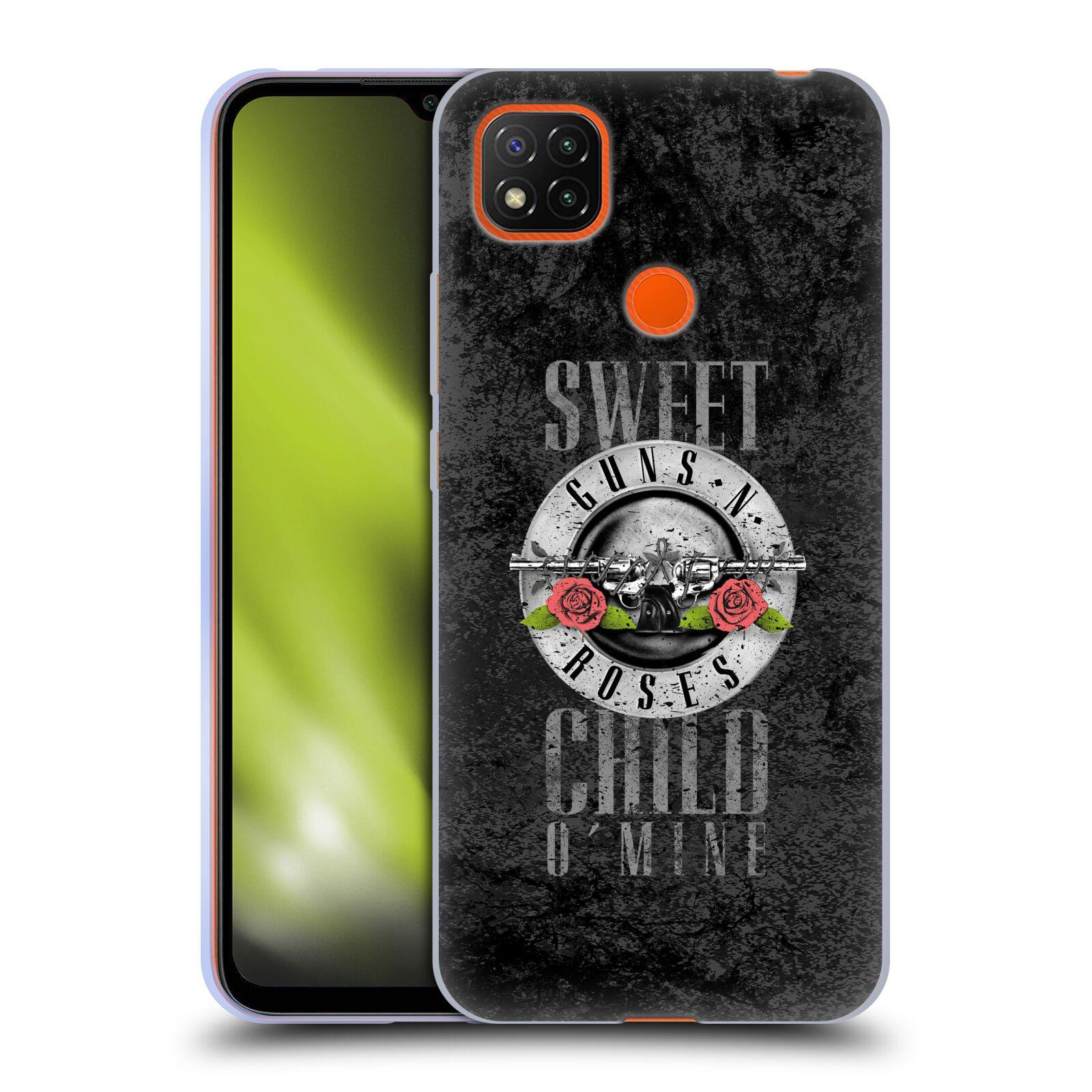 Silikonové pouzdro na mobil Xiaomi Redmi 9C - Head Case - Guns N' Roses - Sweet Child