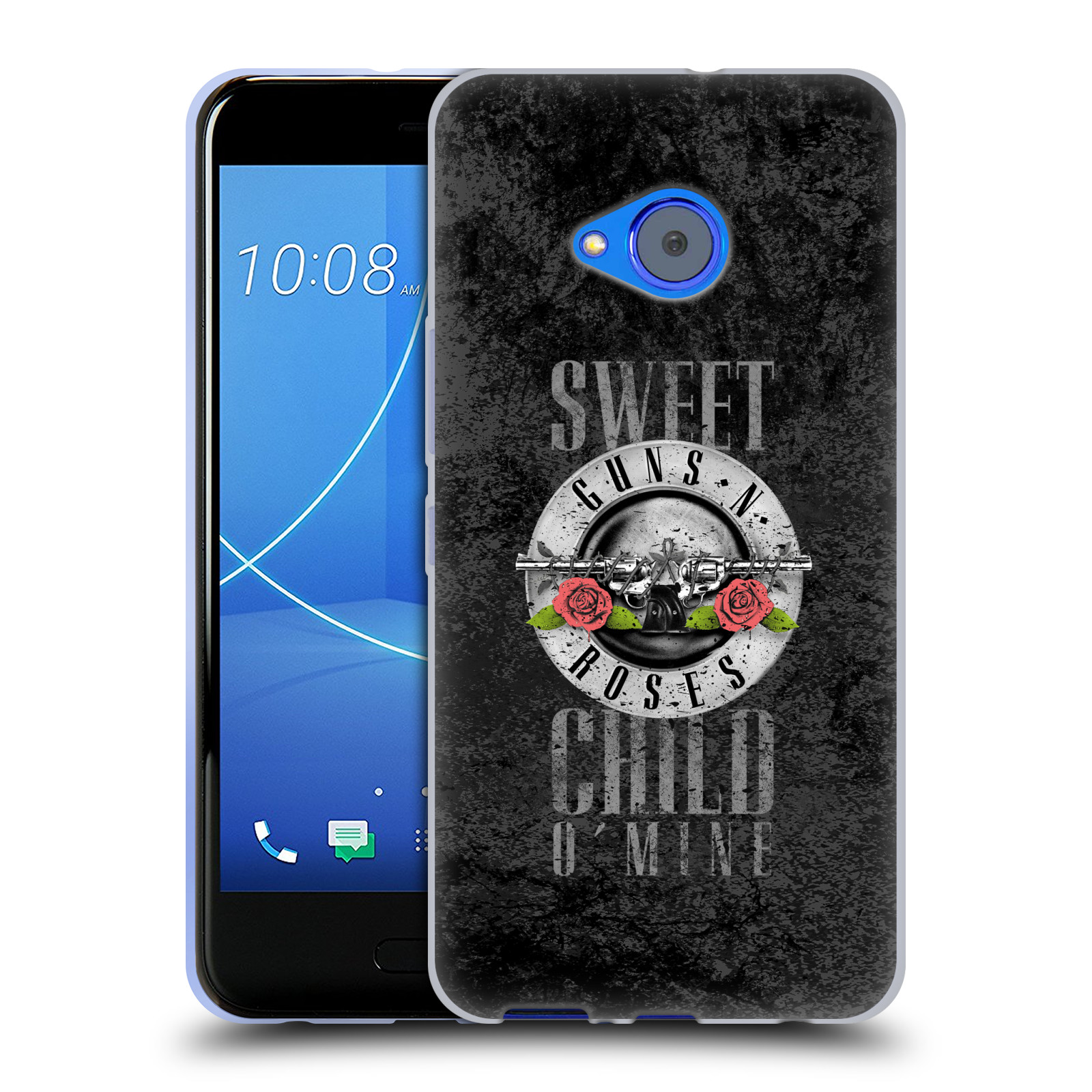 Silikonové pouzdro na mobil HTC U11 Life - Head Case - Guns N' Roses - Sweet Child