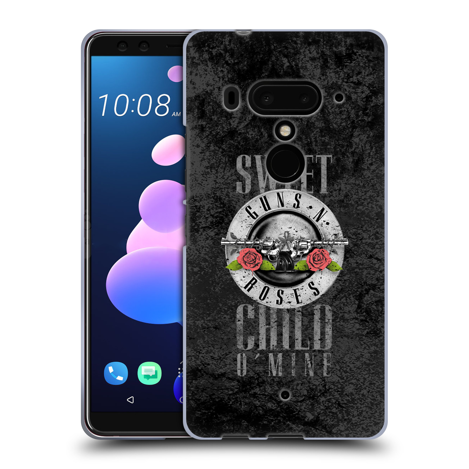 Silikonové pouzdro na mobil HTC U12 Plus - Head Case - Guns N' Roses - Sweet Child
