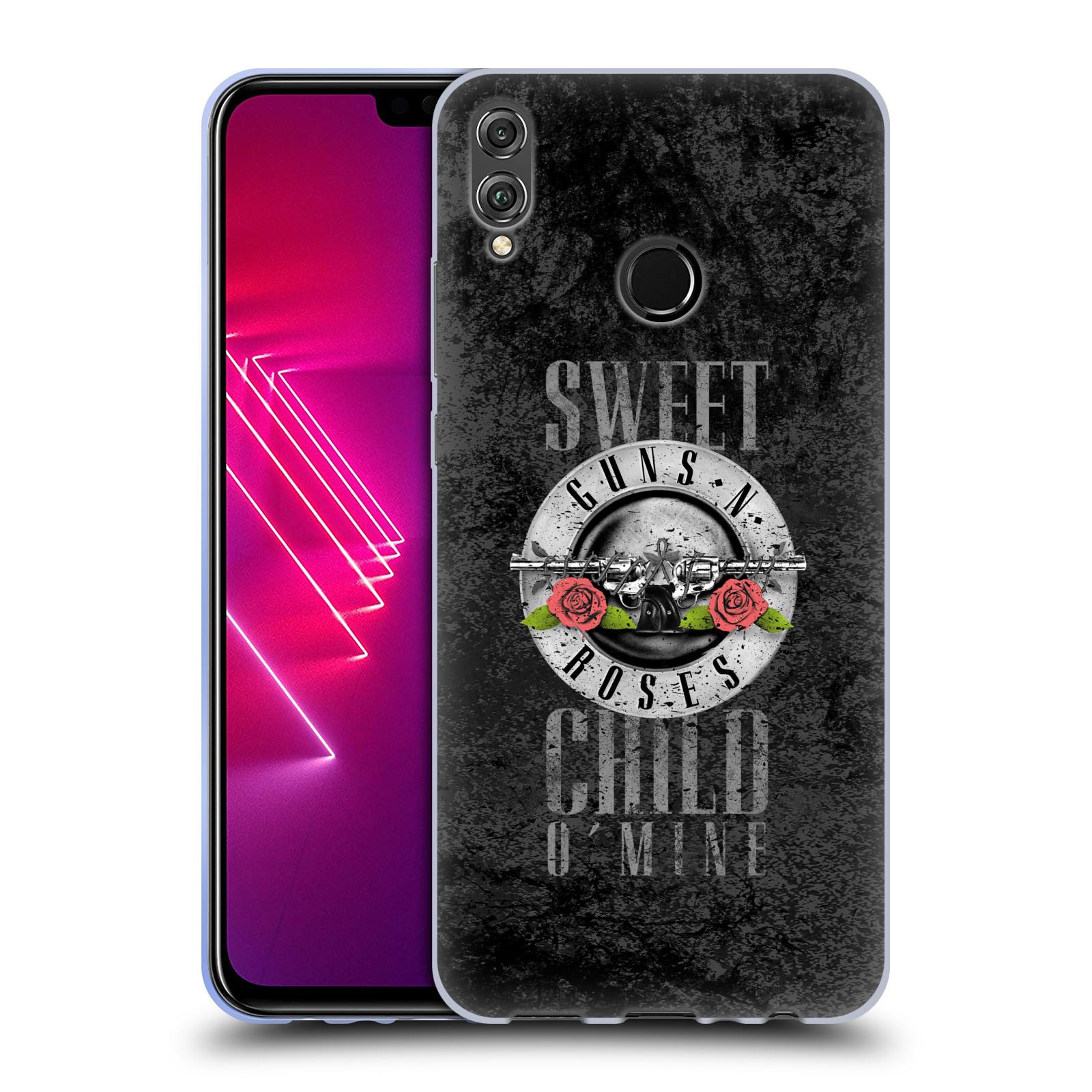 Silikonové pouzdro na mobil Honor View 10 Lite - Head Case - Guns N' Roses - Sweet Child