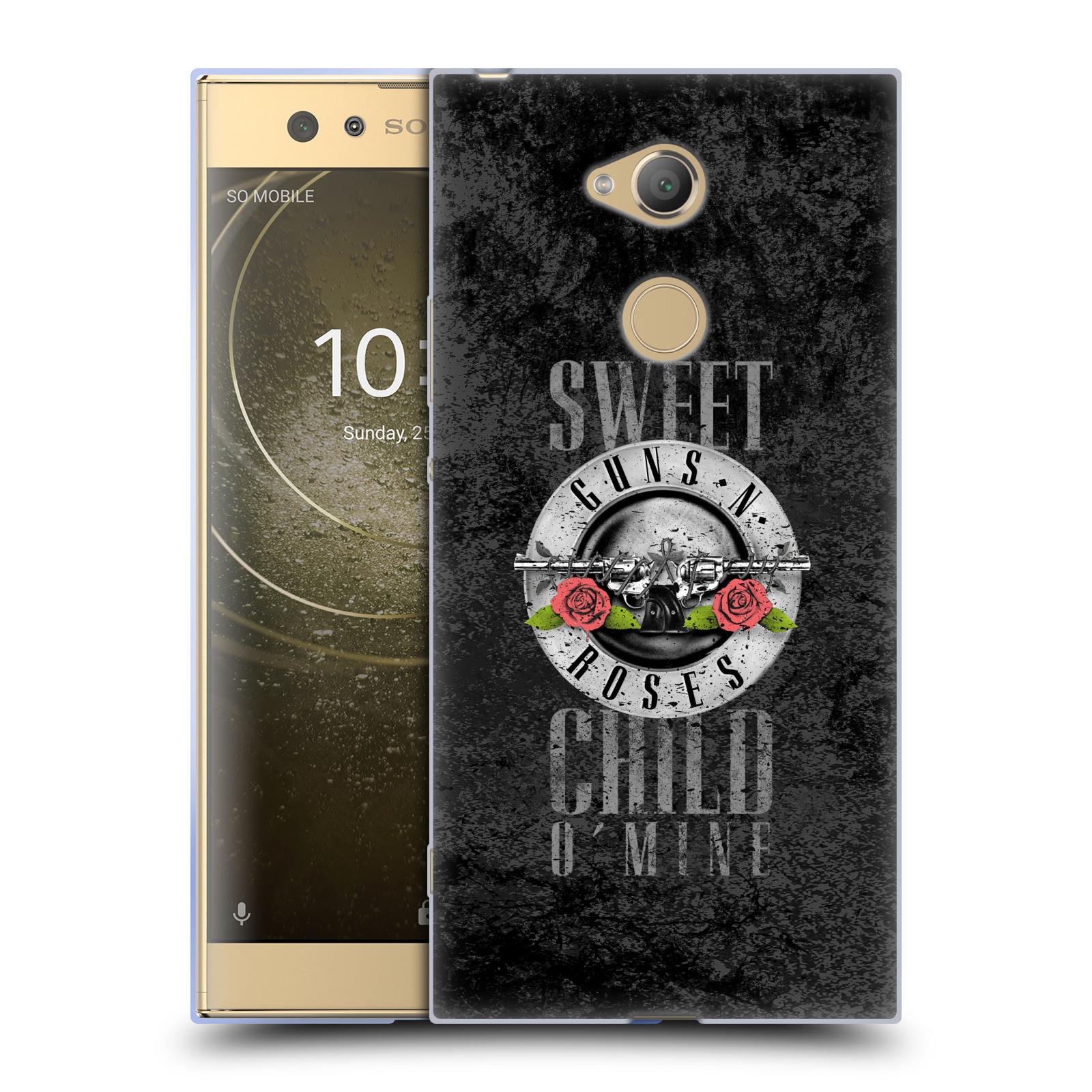Silikonové pouzdro na mobil Sony Xperia XA2 Ultra - Head Case - Guns N' Roses - Sweet Child