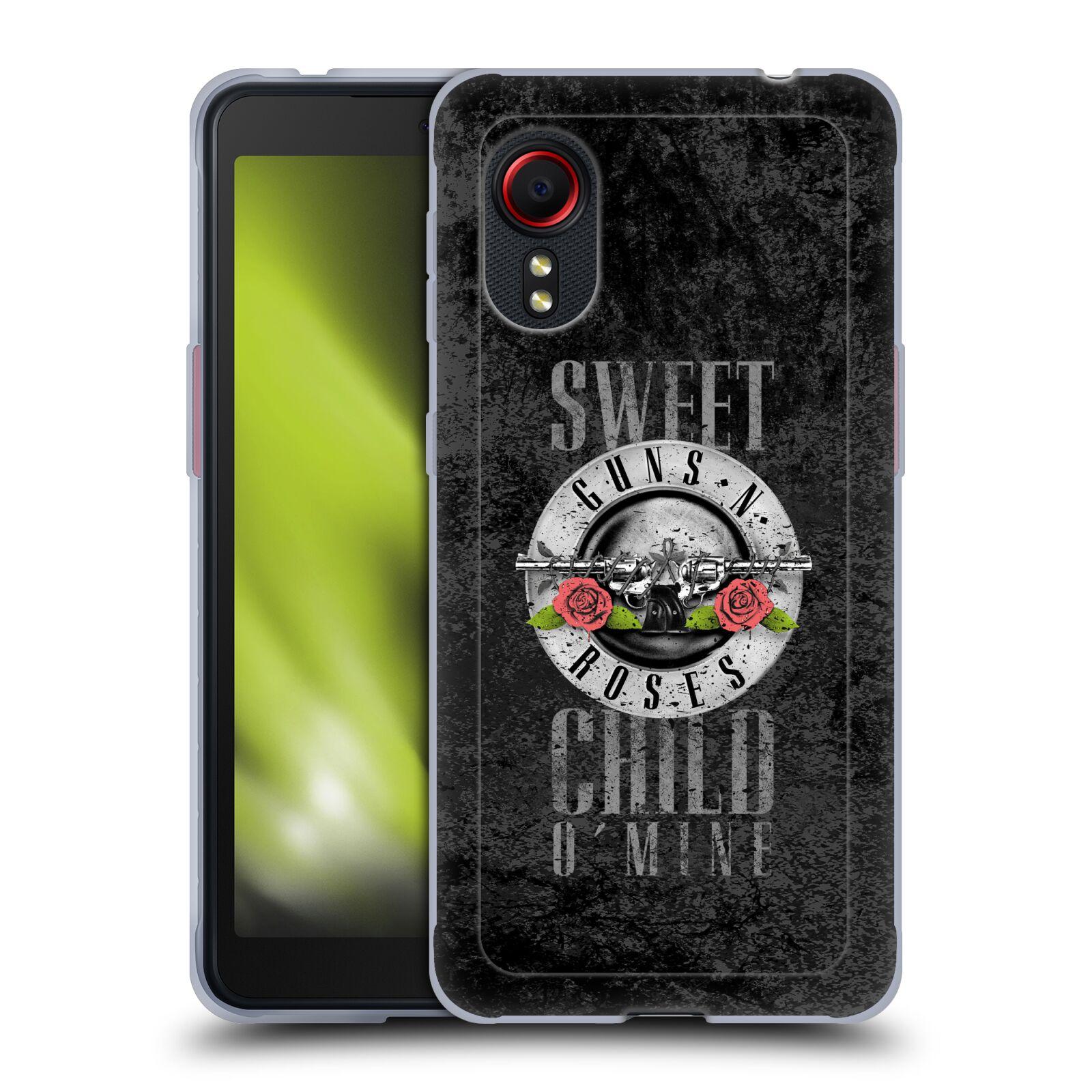 Silikonové pouzdro na mobil Samsung Galaxy Xcover 5 - Head Case - Guns N' Roses - Sweet Child