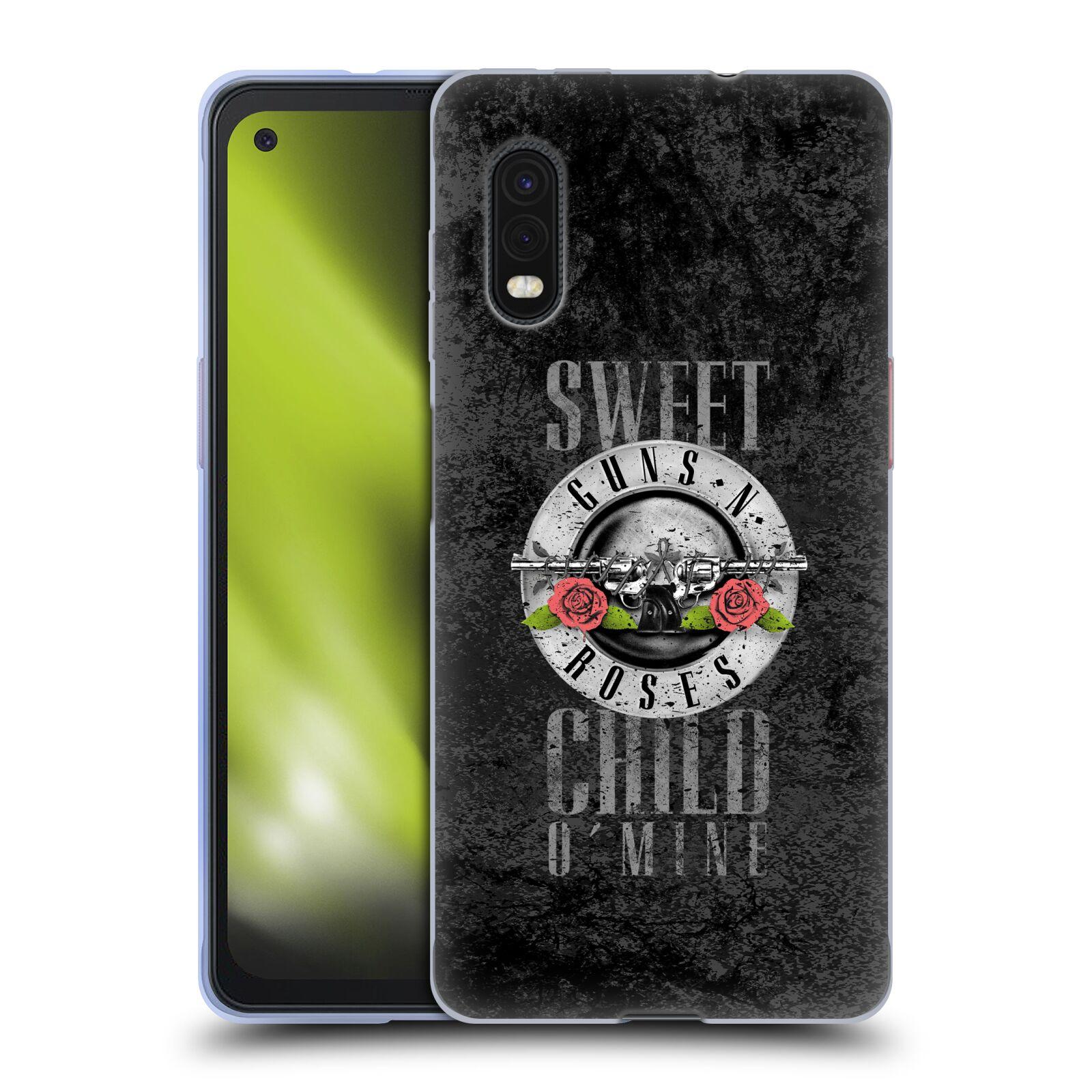 Silikonové pouzdro na mobil Samsung Galaxy Xcover Pro - Head Case - Guns N' Roses - Sweet Child