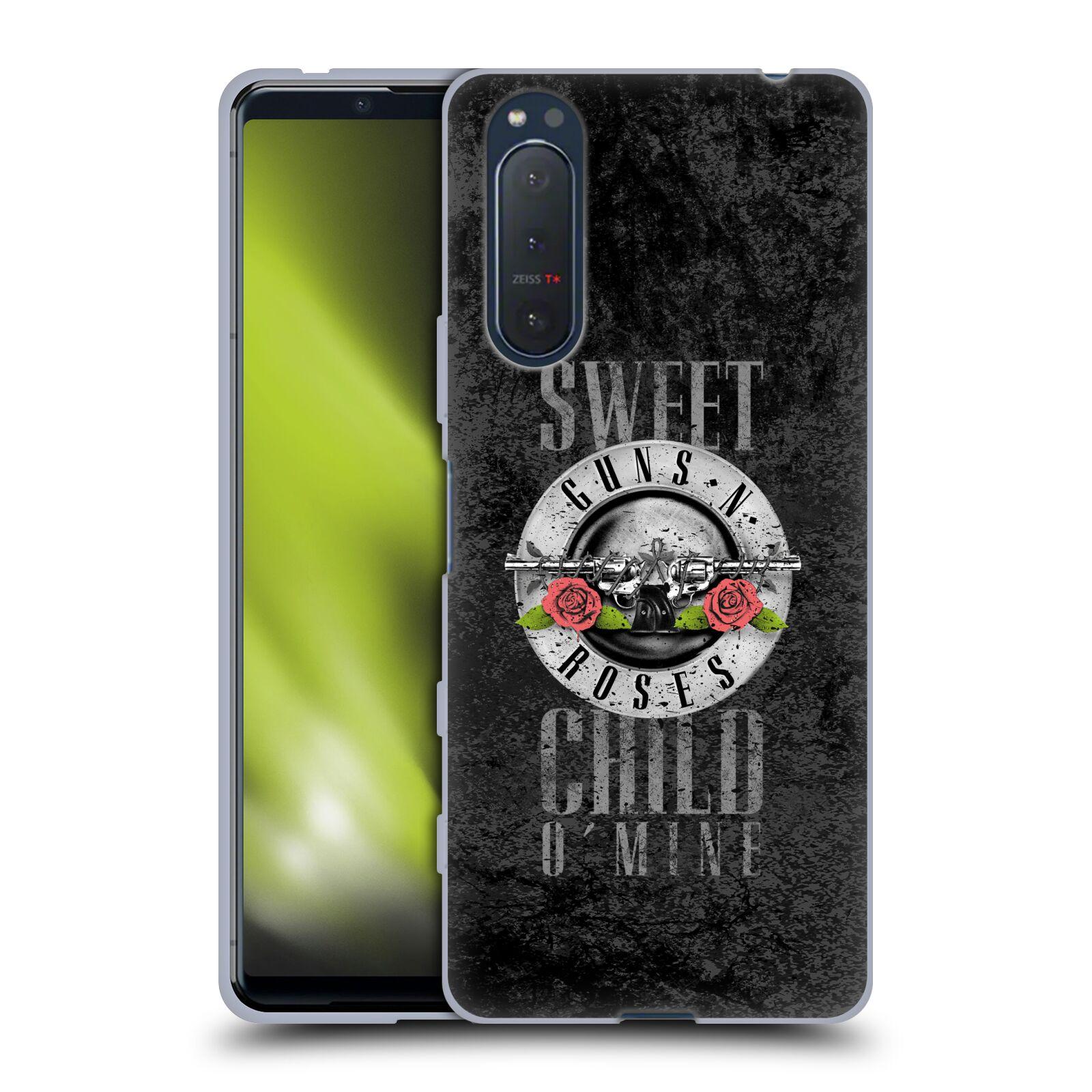 Silikonové pouzdro na mobil Sony Xperia 5 II - Head Case - Guns N' Roses - Sweet Child