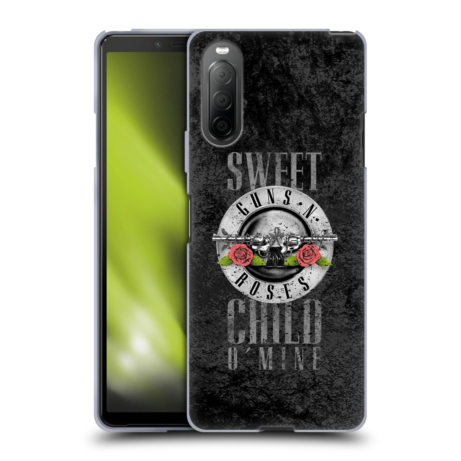 Silikonové pouzdro na mobil Sony Xperia 10 II - Head Case - Guns N' Roses - Sweet Child