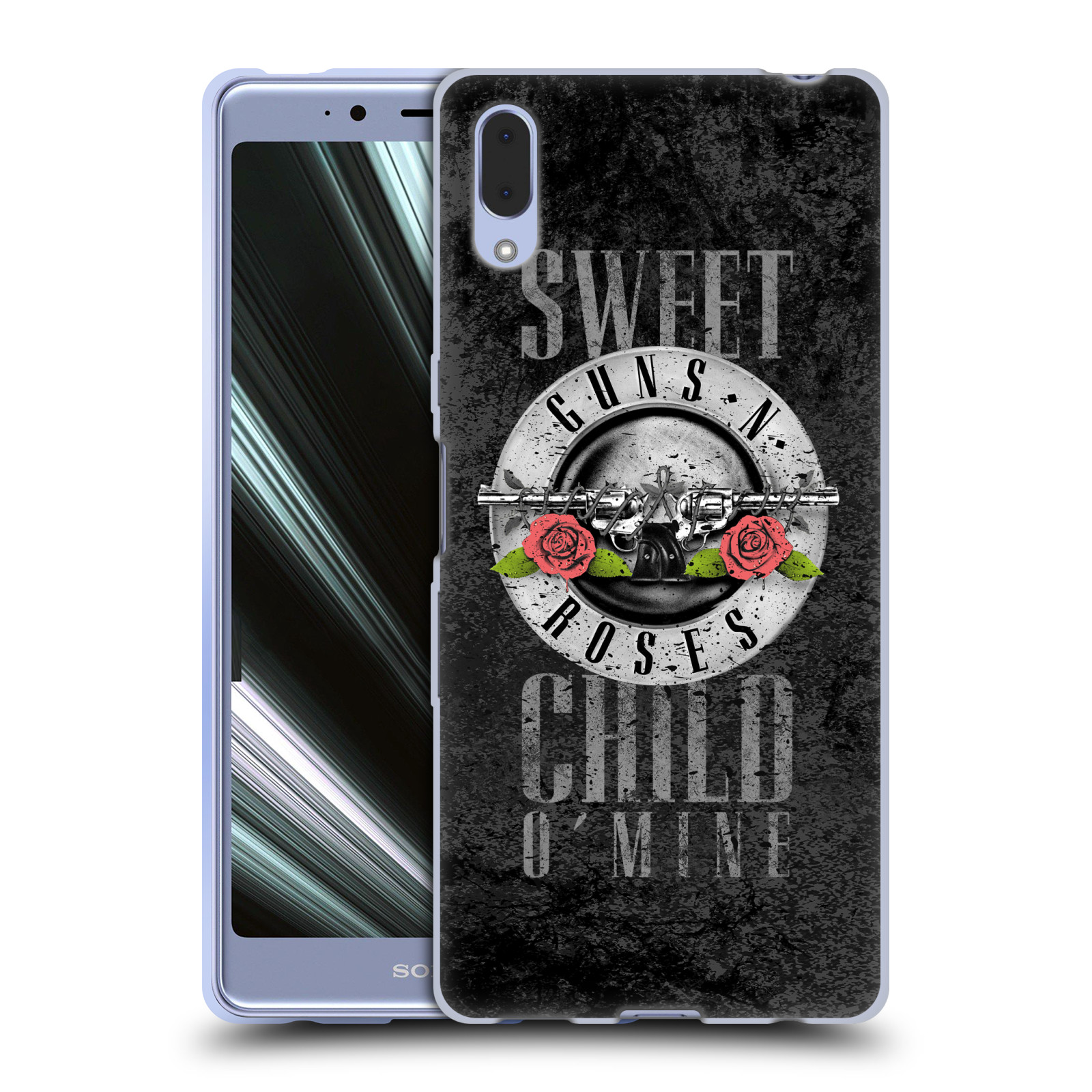 Silikonové pouzdro na mobil Sony Xperia L3 - Head Case - Guns N' Roses - Sweet Child