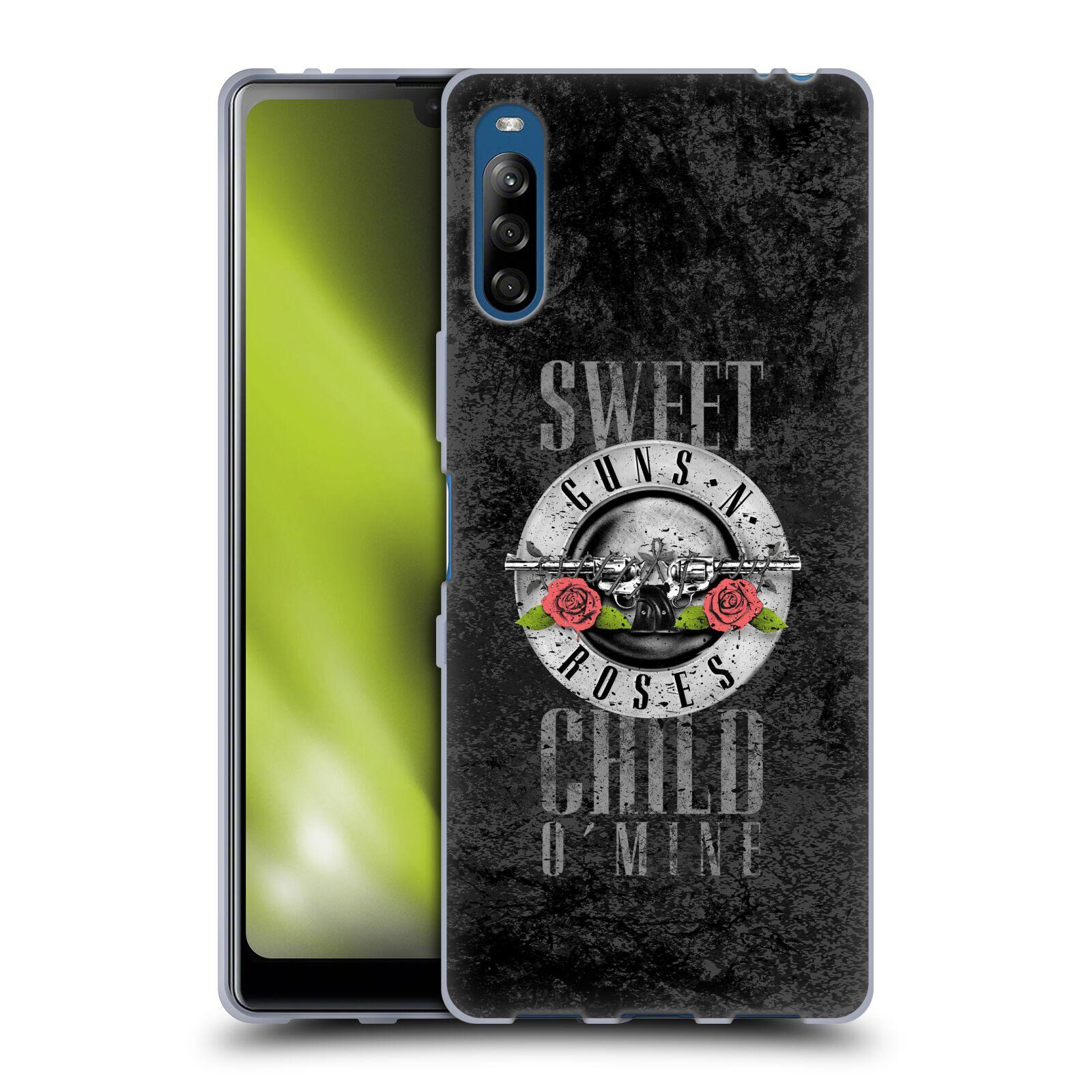 Silikonové pouzdro na mobil Sony Xperia L4 - Head Case - Guns N' Roses - Sweet Child
