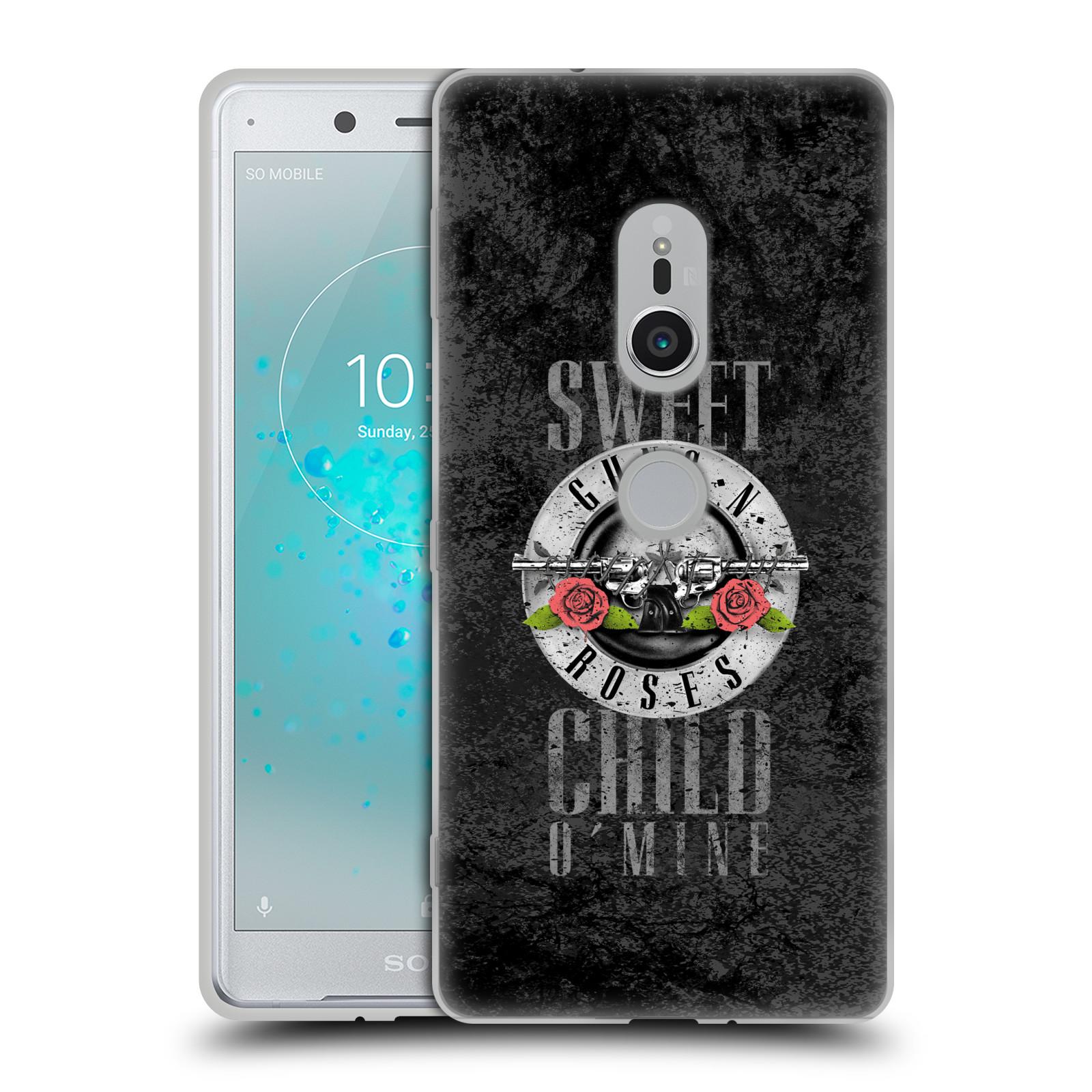 Silikonové pouzdro na mobil Sony Xperia XZ2 - Head Case - Guns N' Roses - Sweet Child
