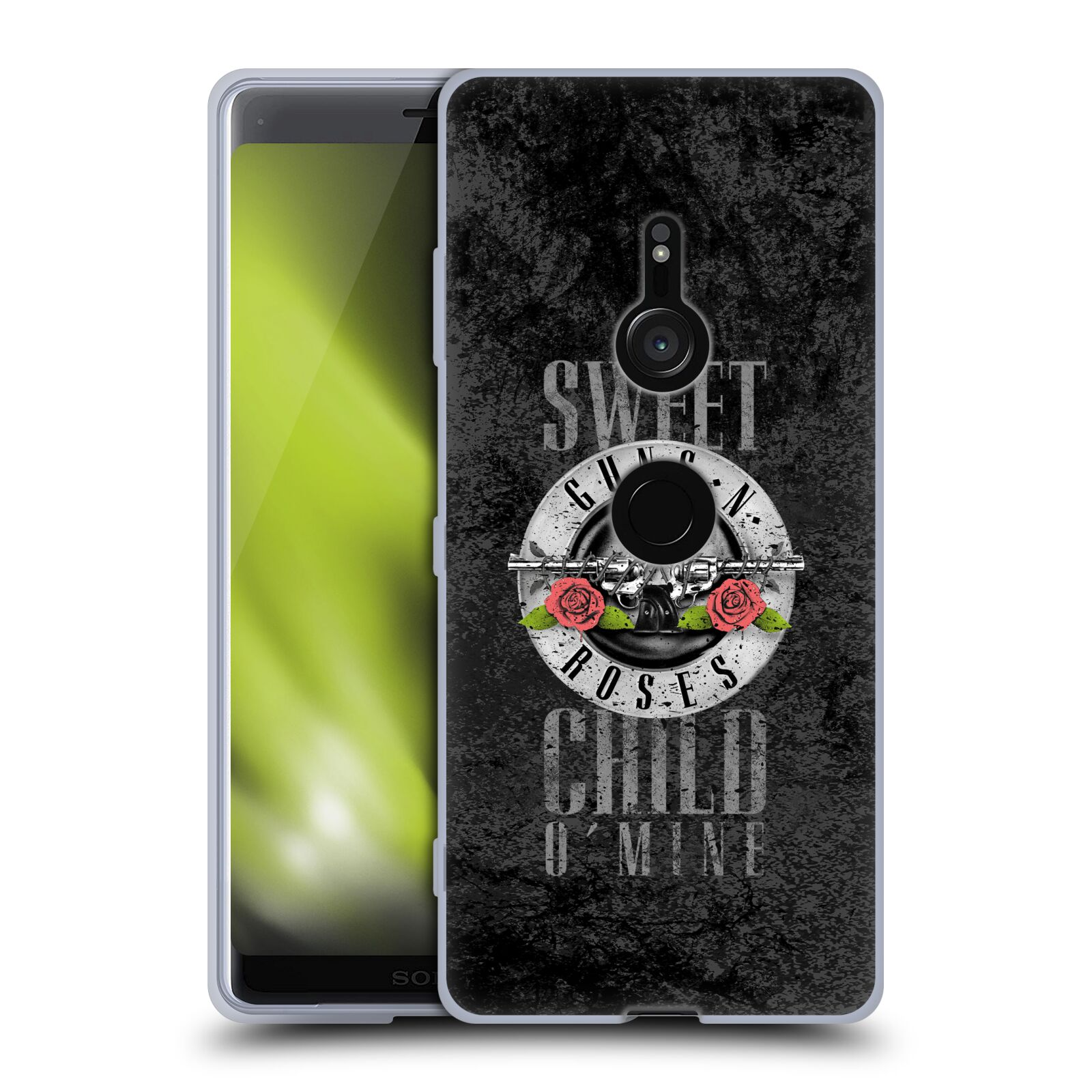 Silikonové pouzdro na mobil Sony Xperia XZ3 - Head Case - Guns N' Roses - Sweet Child