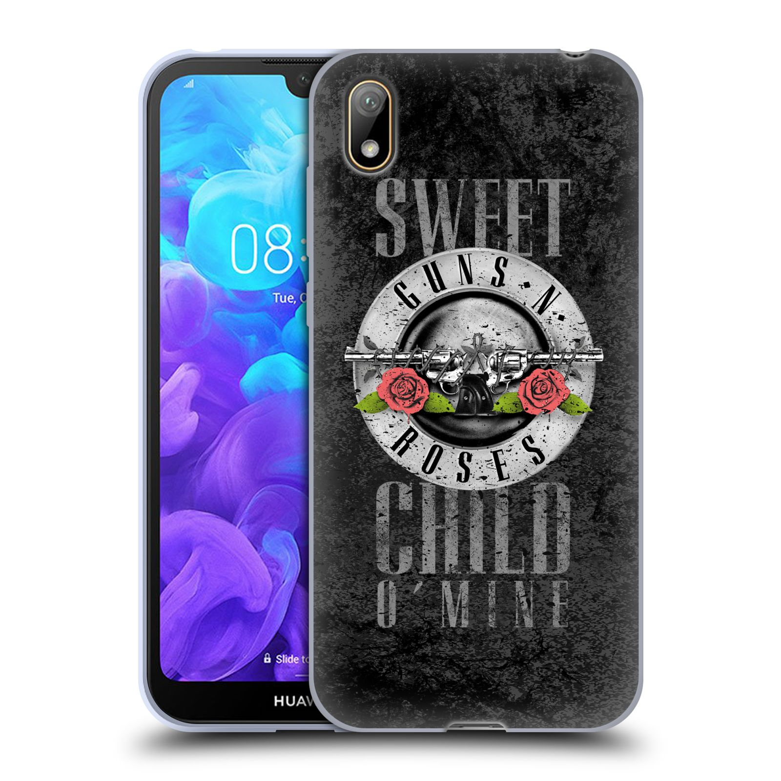 Silikonové pouzdro na mobil Honor 8S - Head Case - Guns N' Roses - Sweet Child