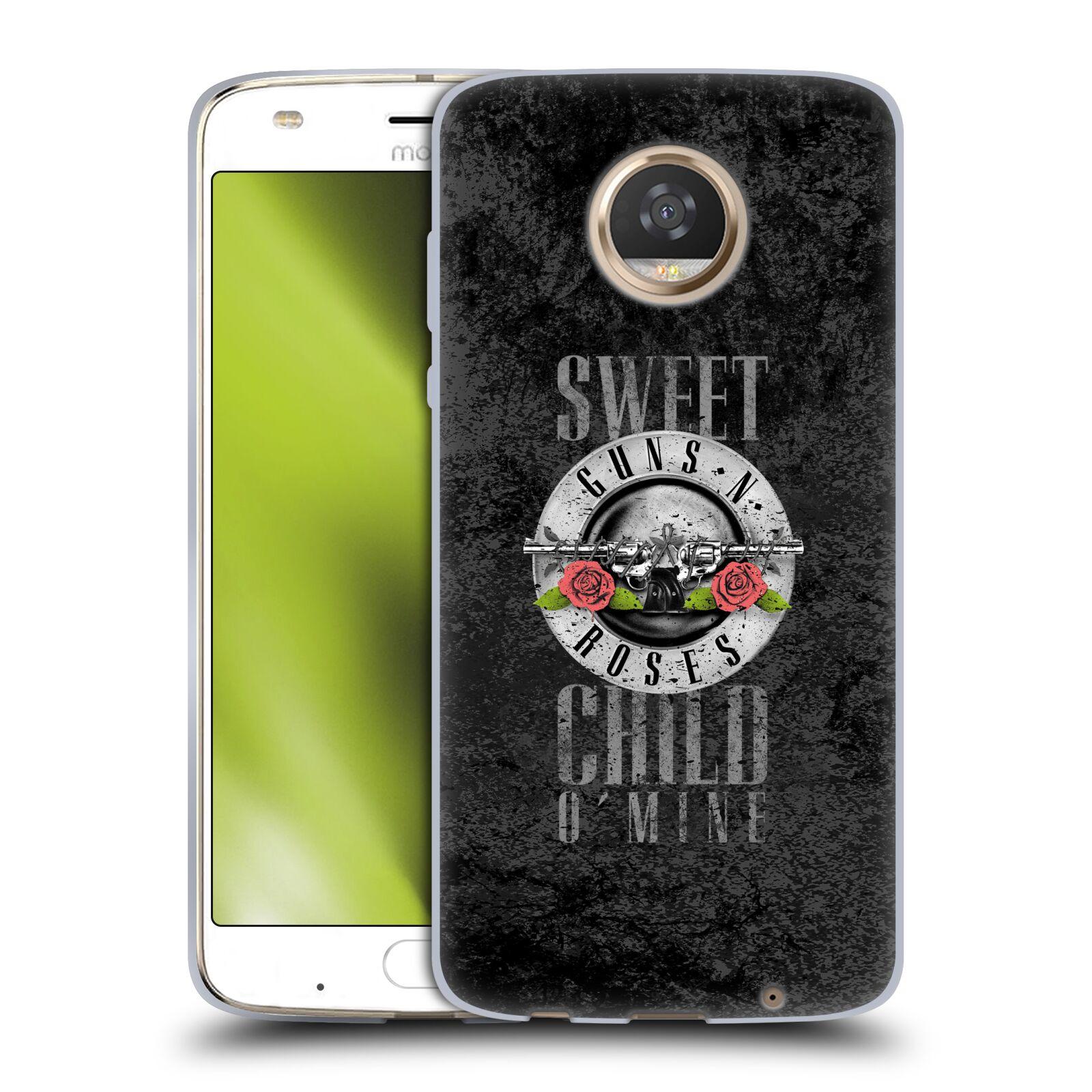 Silikonové pouzdro na mobil Lenovo Moto Z2 Play - Head Case - Guns N' Roses - Sweet Child