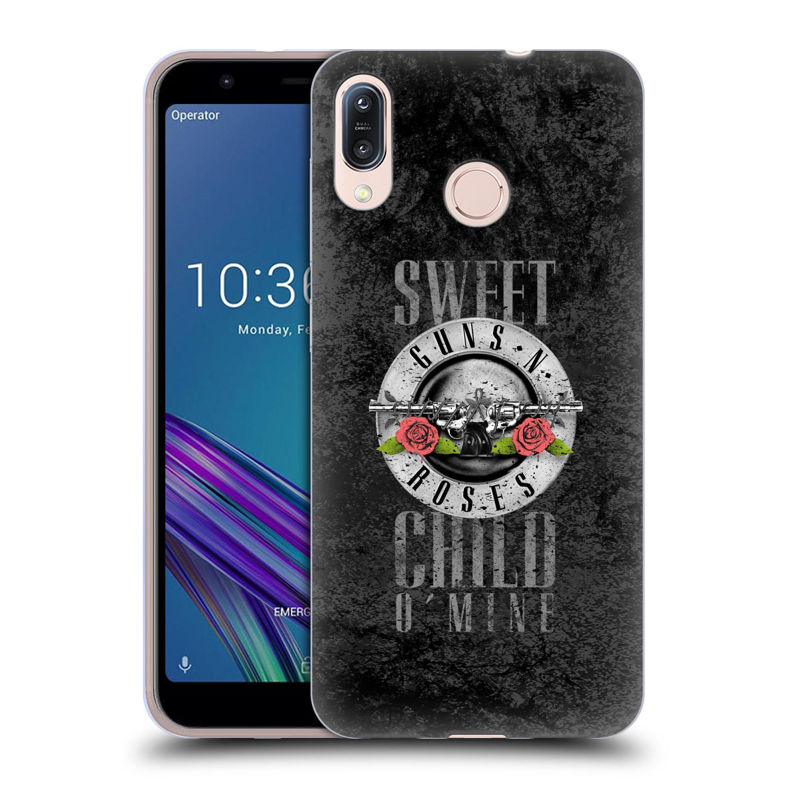Silikonové pouzdro na mobil Asus Zenfone Max M1 ZB555KL - Head Case - Guns N' Roses - Sweet Child