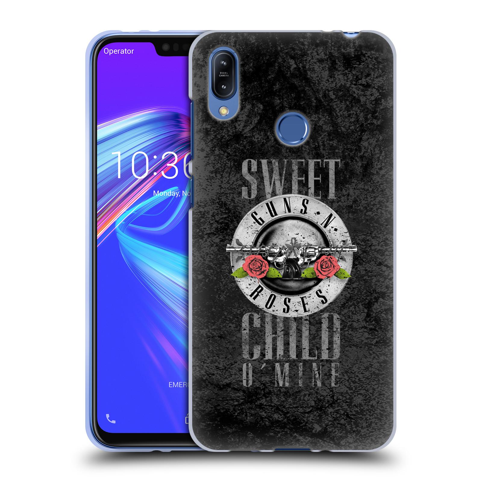 Silikonové pouzdro na mobil Asus Zenfone Max (M2) ZB633KL - Head Case - Guns N' Roses - Sweet Child