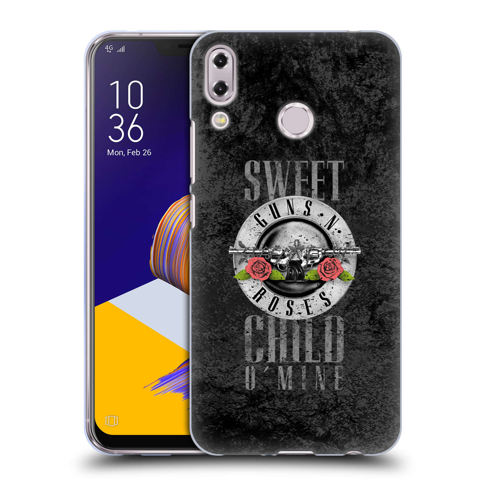 Silikonové pouzdro na mobil Asus ZenFone 5 ZE620KL - Head Case - Guns N' Roses - Sweet Child