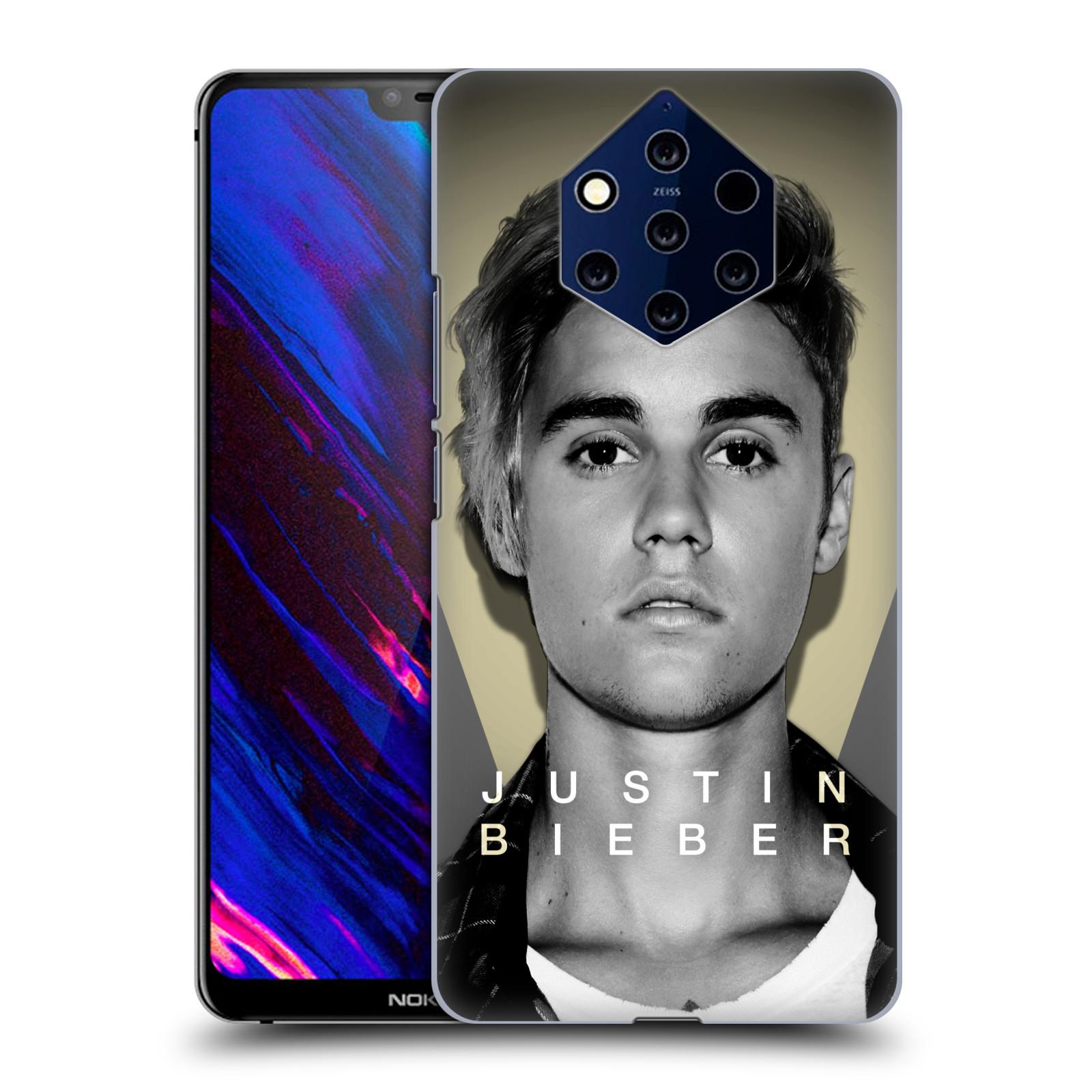 Plastové pouzdro na mobil Nokia 9 PureView - Head Case - Justin Bieber Official - Head Shot