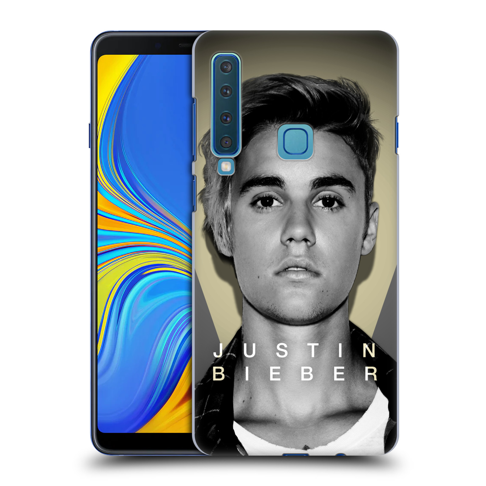 Plastové pouzdro na mobil Samsung Galaxy A9 (2018) - Head Case - Justin Bieber Official - Head Shot