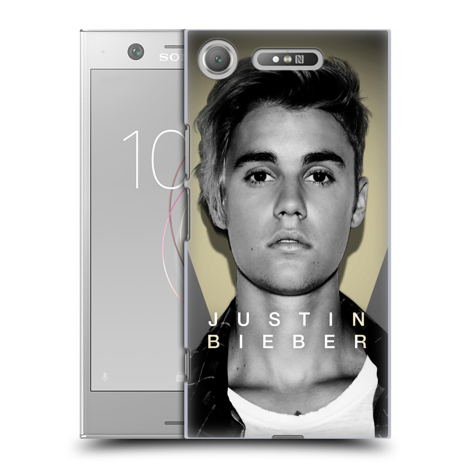 Plastové pouzdro na mobil Sony Xperia XZ1 - Head Case - Justin Bieber Official - Head Shot