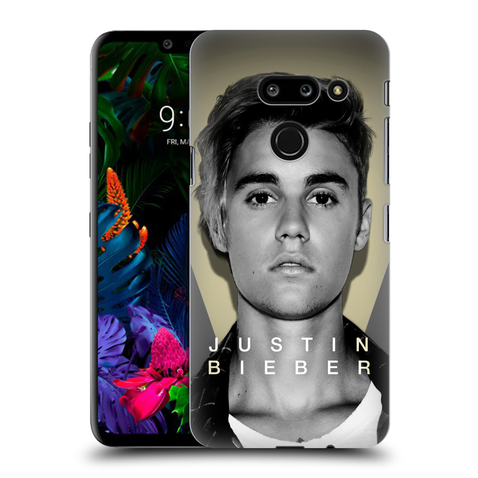 Plastové pouzdro na mobil LG G8 ThinQ - Head Case - Justin Bieber Official - Head Shot