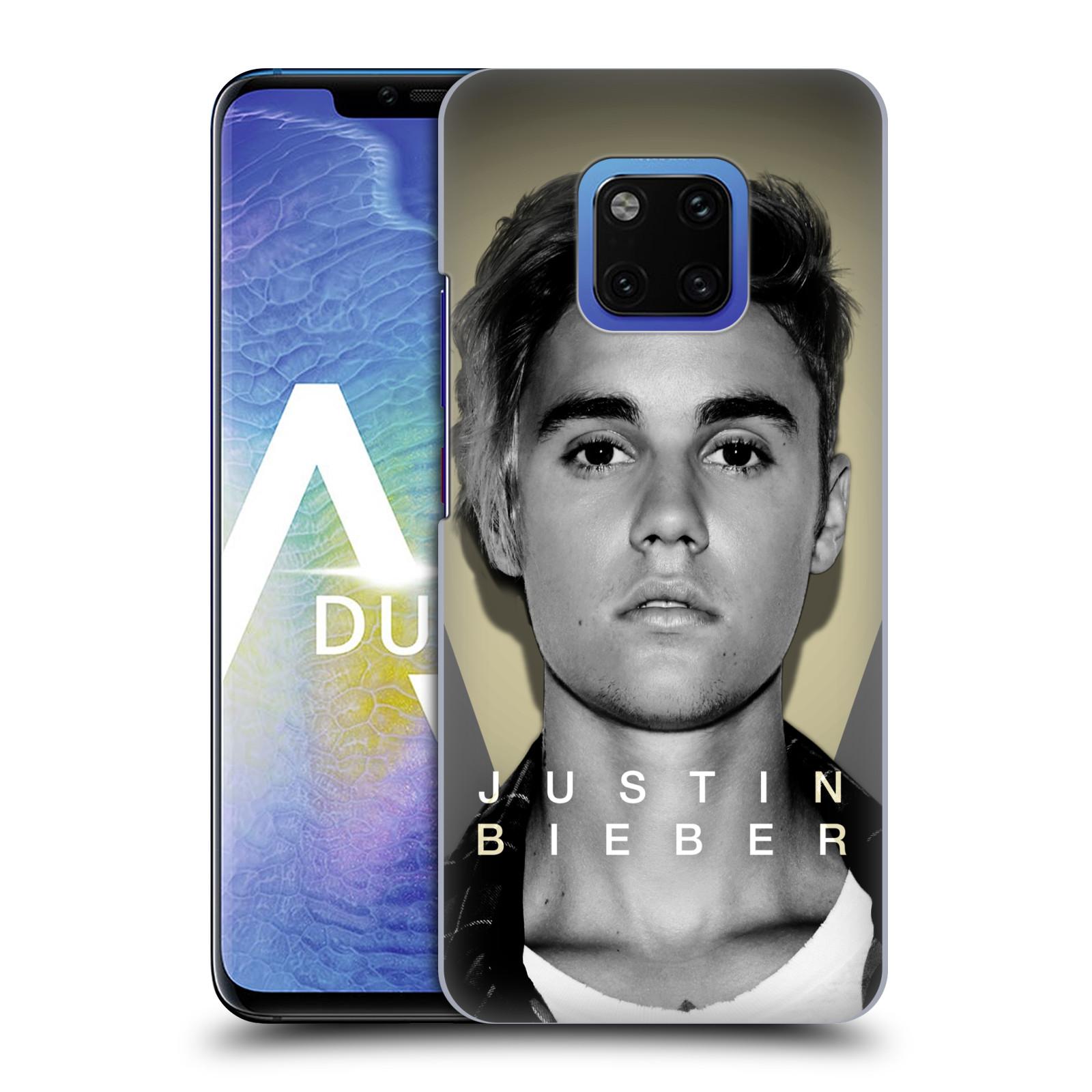 Plastové pouzdro na mobil Huawei Mate 20 Pro - Head Case - Justin Bieber Official - Head Shot