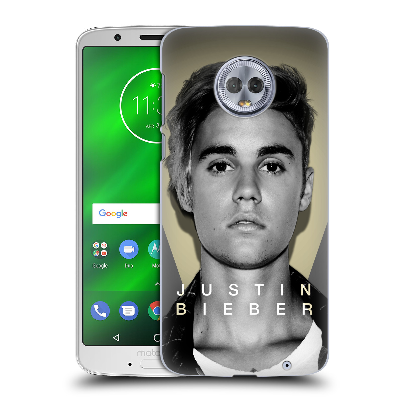 Plastové pouzdro na mobil Motorola Moto G6 Plus - Head Case - Justin Bieber Official - Head Shot