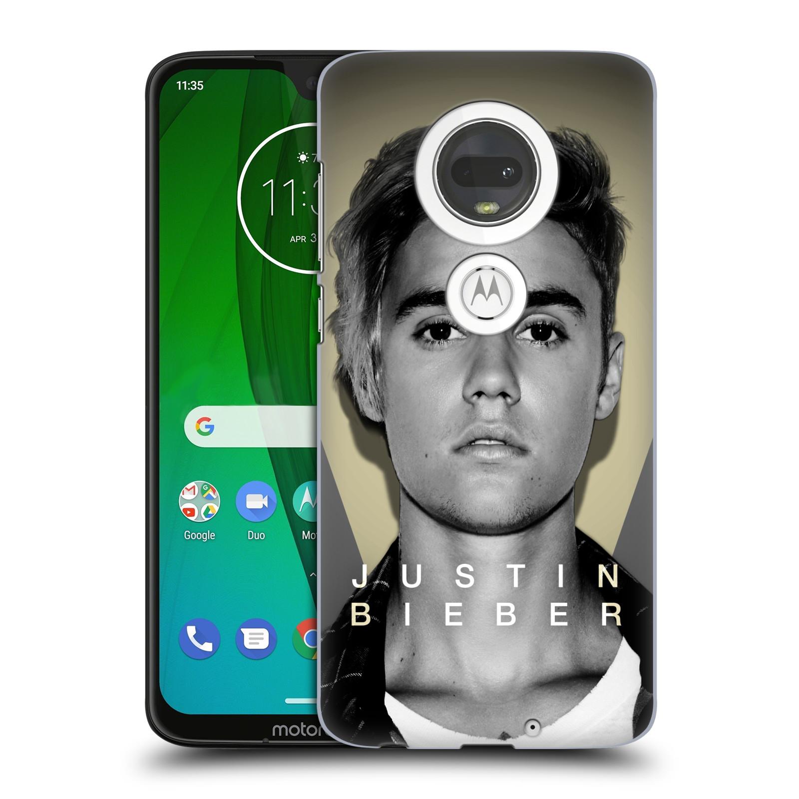 Plastové pouzdro na mobil Motorola Moto G7 - Head Case - Justin Bieber Official - Head Shot