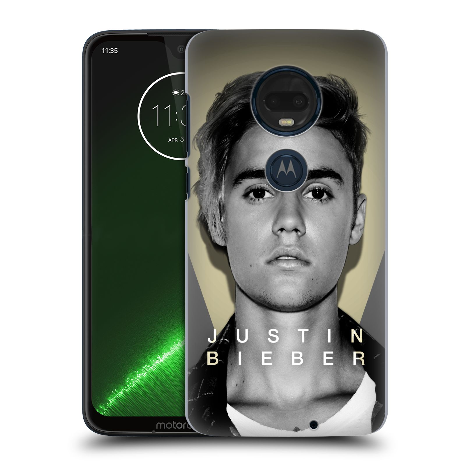 Plastové pouzdro na mobil Motorola Moto G7 Plus - Head Case - Justin Bieber Official - Head Shot