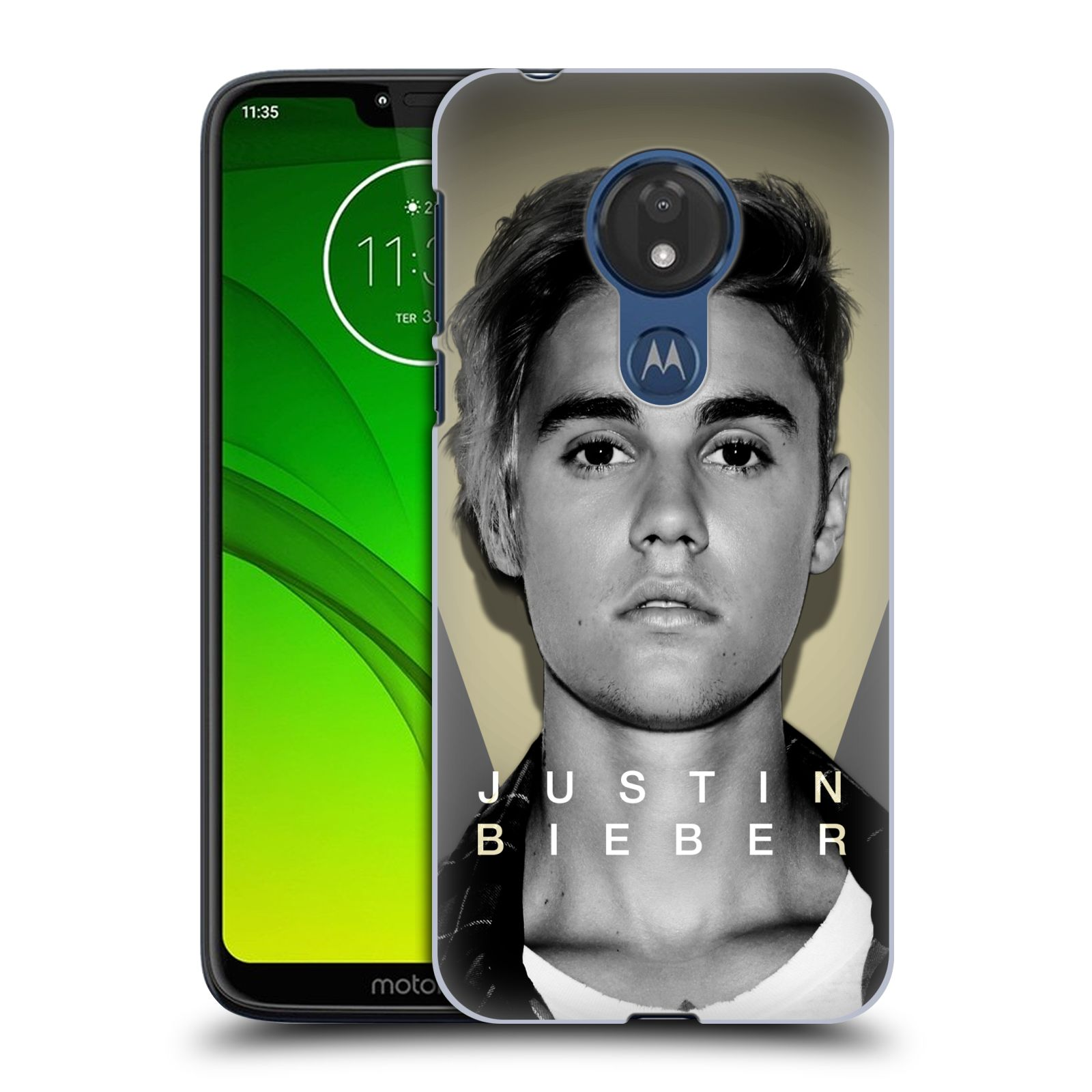 Plastové pouzdro na mobil Motorola Moto G7 Power - Head Case - Justin Bieber Official - Head Shot