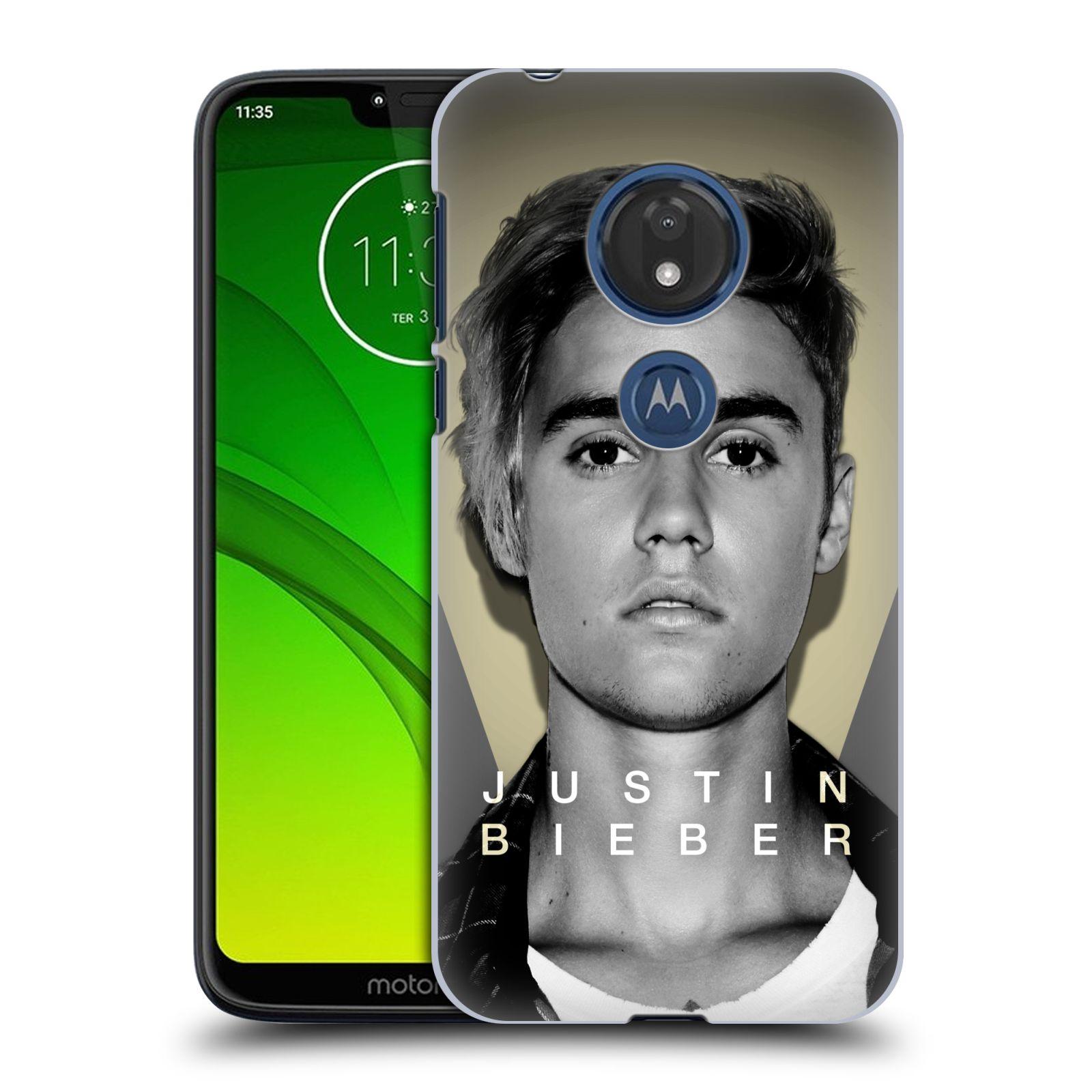 Plastové pouzdro na mobil Motorola Moto G7 Play - Head Case - Justin Bieber Official - Head Shot