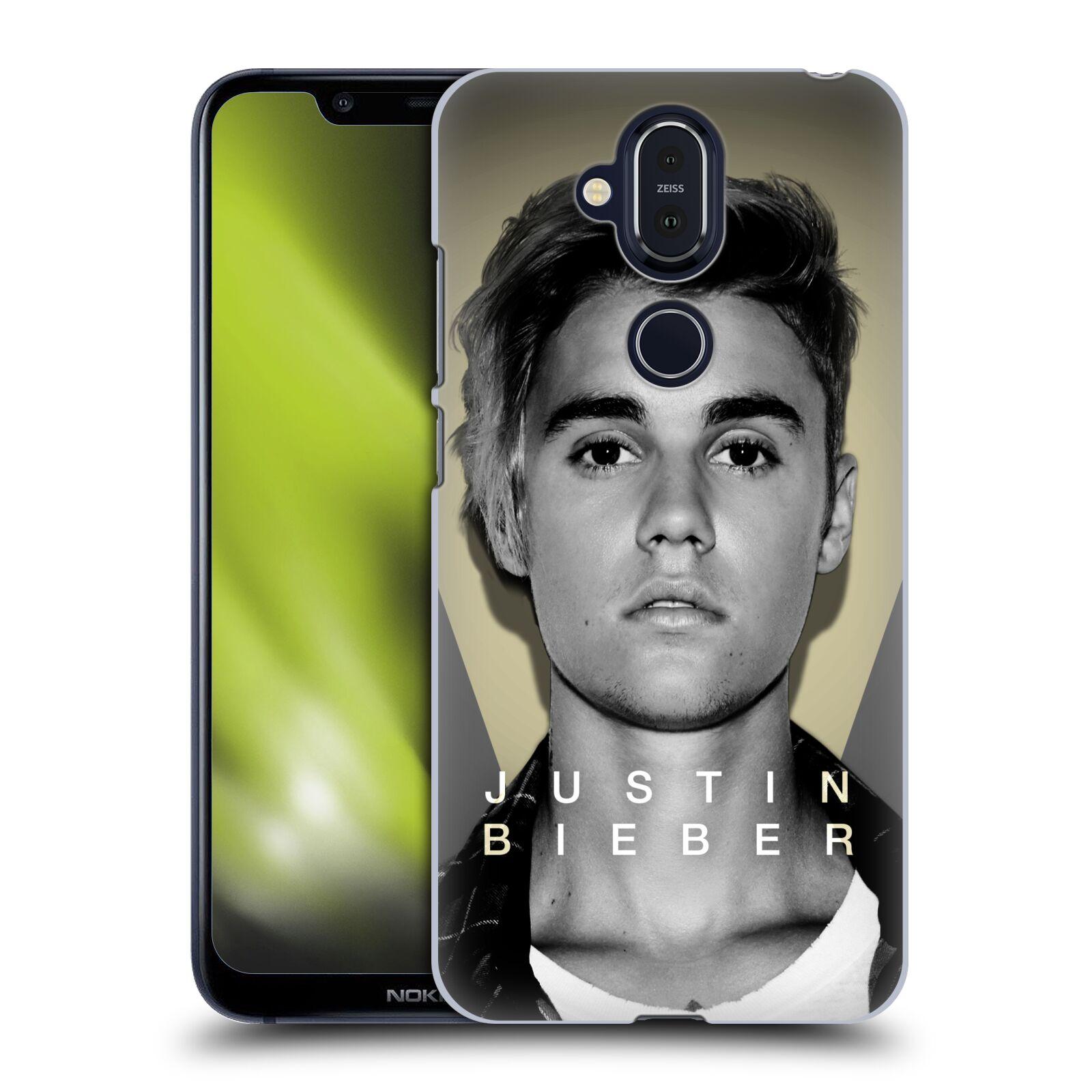 Plastové pouzdro na mobil Nokia 8.1 - Head Case - Justin Bieber Official - Head Shot