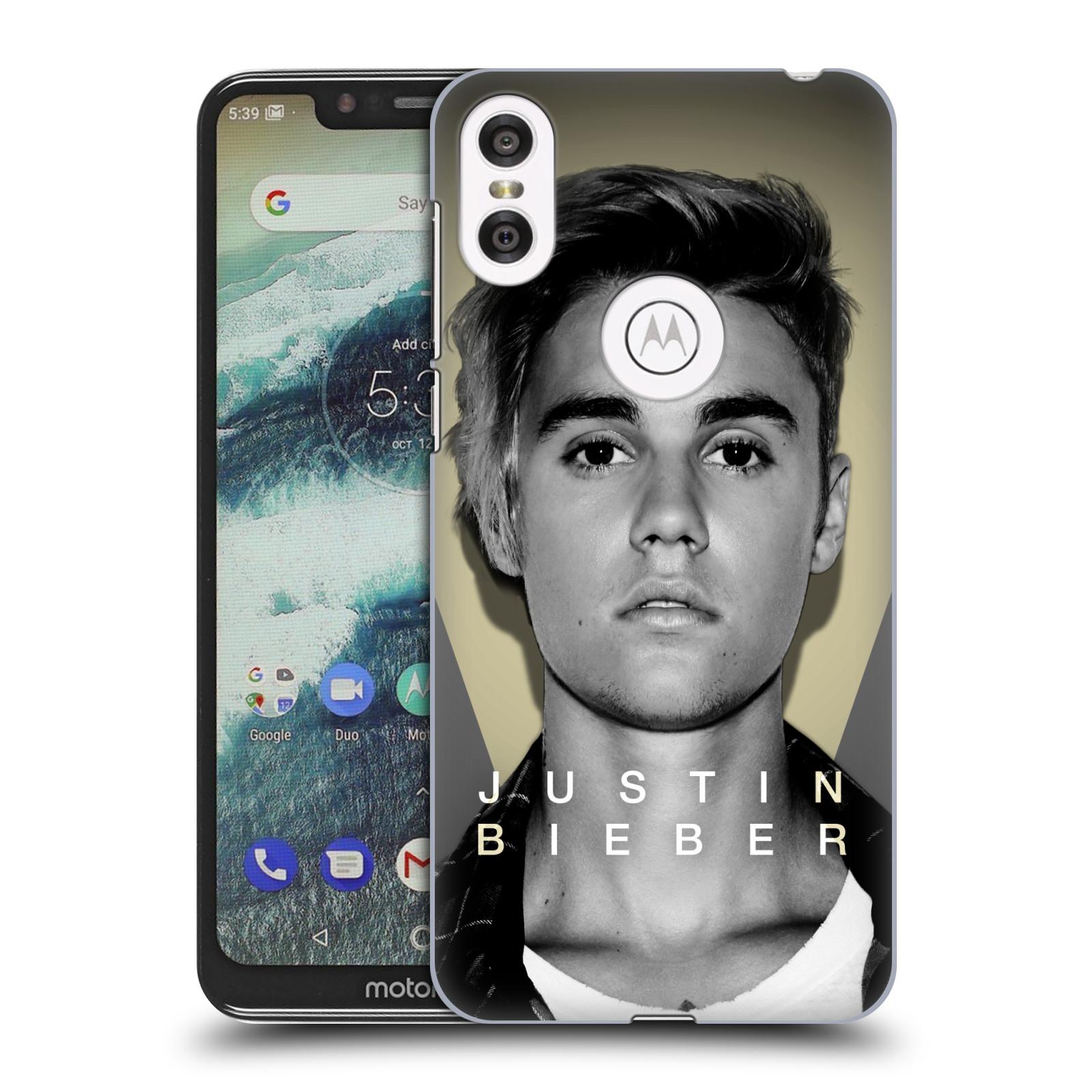 Plastové pouzdro na mobil Motorola One - Head Case - Justin Bieber Official - Head Shot