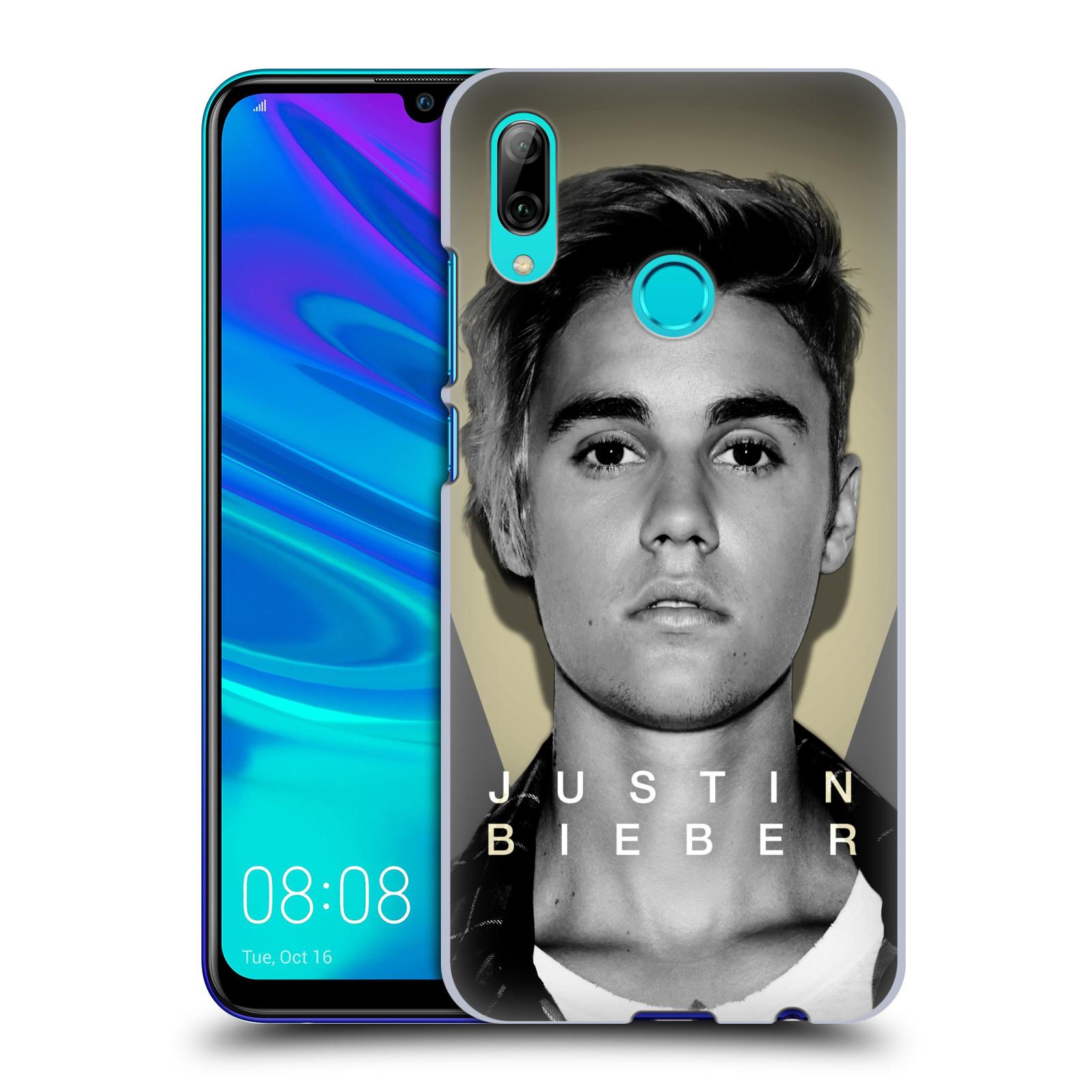 Plastové pouzdro na mobil Huawei P Smart (2019) - Head Case - Justin Bieber Official - Head Shot