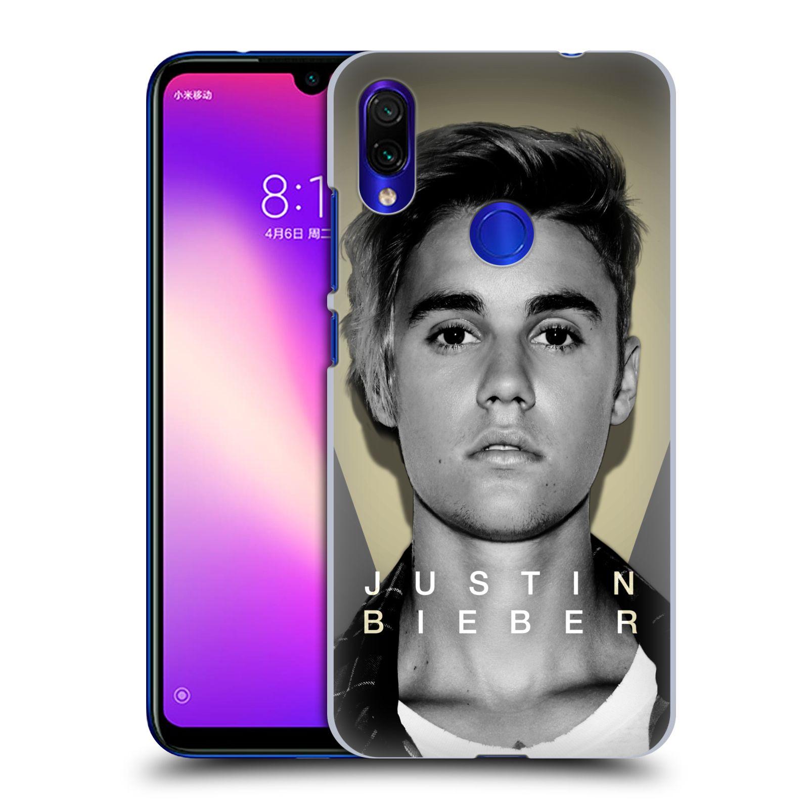 Plastové pouzdro na mobil Xiaomi Redmi Note 7 - Head Case - Justin Bieber Official - Head Shot