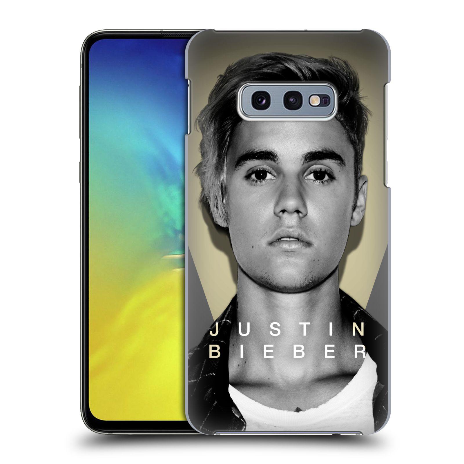 Plastové pouzdro na mobil Samsung Galaxy S10e - Head Case - Justin Bieber Official - Head Shot
