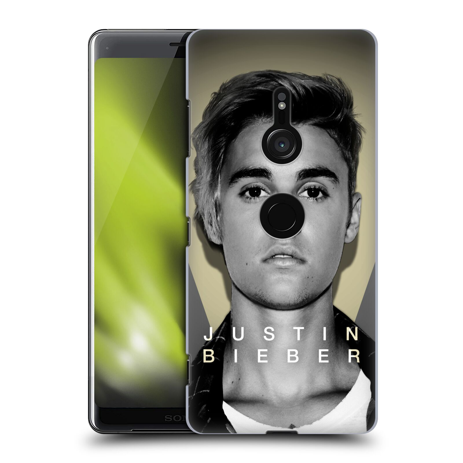 Plastové pouzdro na mobil Sony Xperia XZ3 - Head Case - Justin Bieber Official - Head Shot