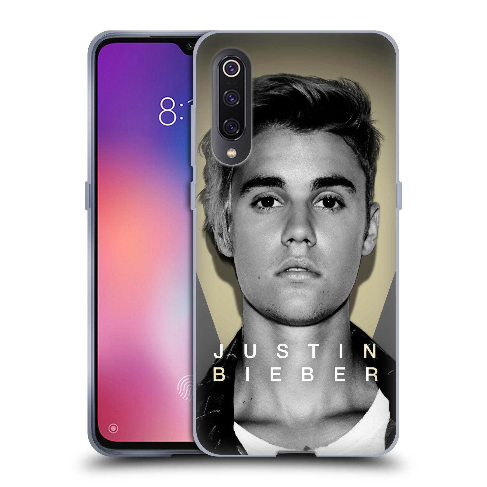 Silikonové pouzdro na mobil Xiaomi Mi 9 - Head Case - Justin Bieber Official - Head Shot
