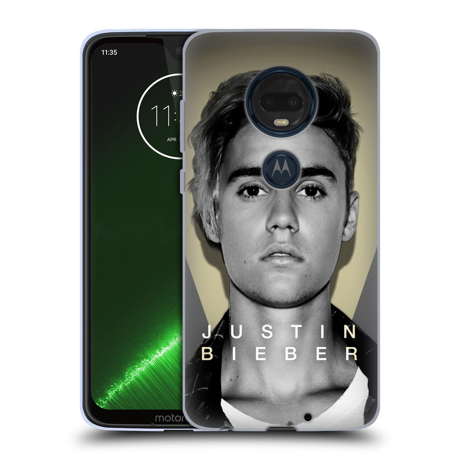 Silikonové pouzdro na mobil Motorola Moto G7 Plus - Head Case - Justin Bieber Official - Head Shot