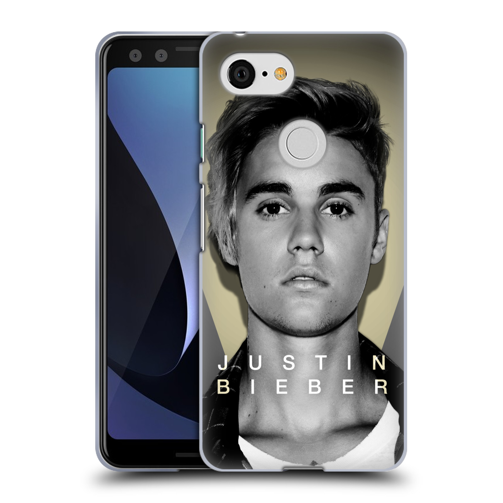 Silikonové pouzdro na mobil Google Pixel 3 - Head Case - Justin Bieber Official - Head Shot